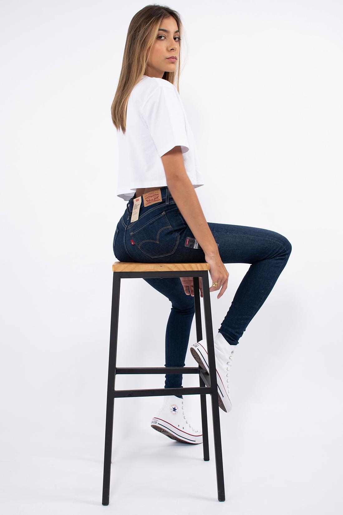 Calca Jeans Levis 720 High Rise Super Skinny