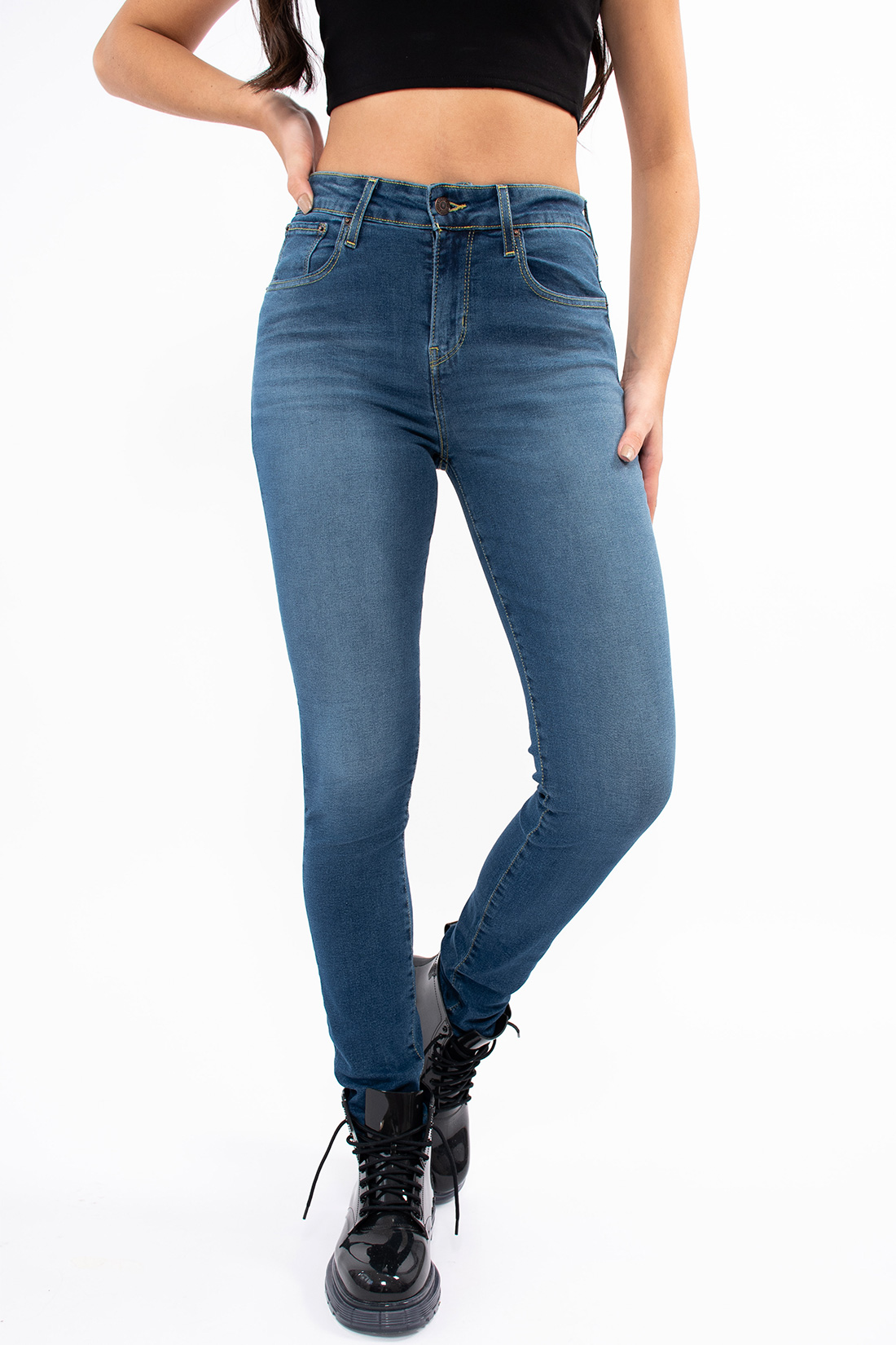Calca Jeans Levis 721 High-Rise Skinny