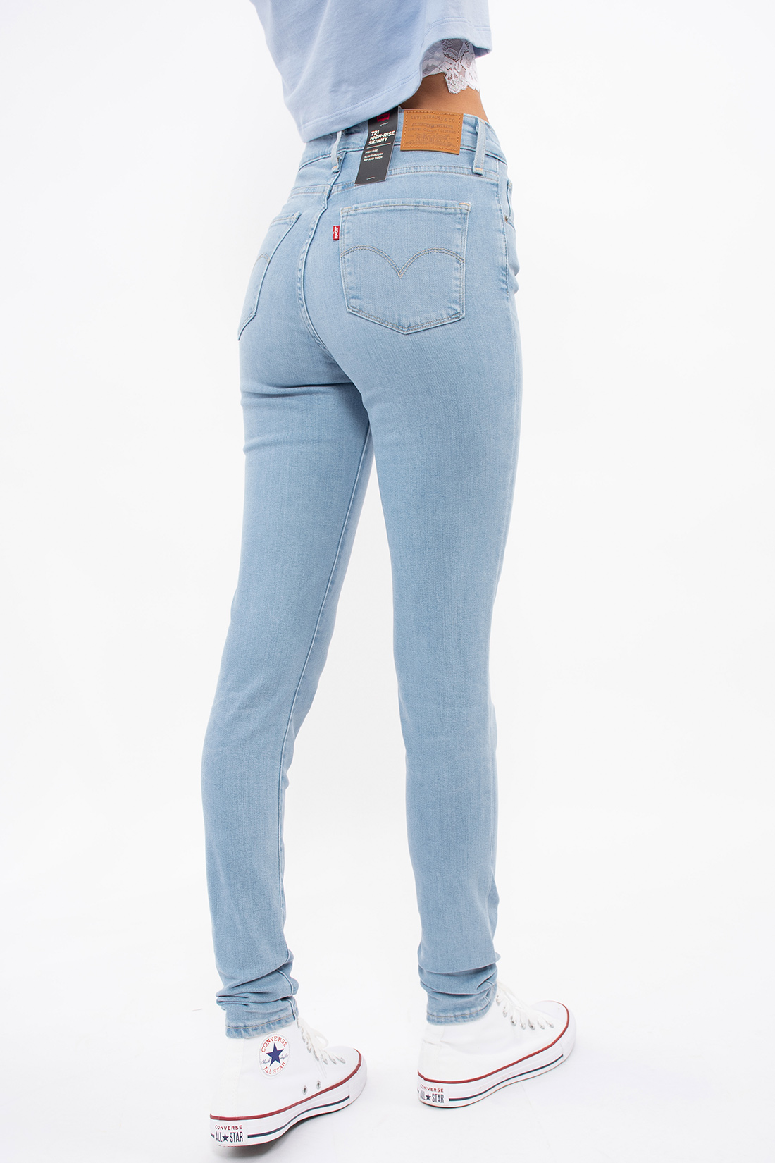 Calca Jeans Levis 721 High Rise Skinny