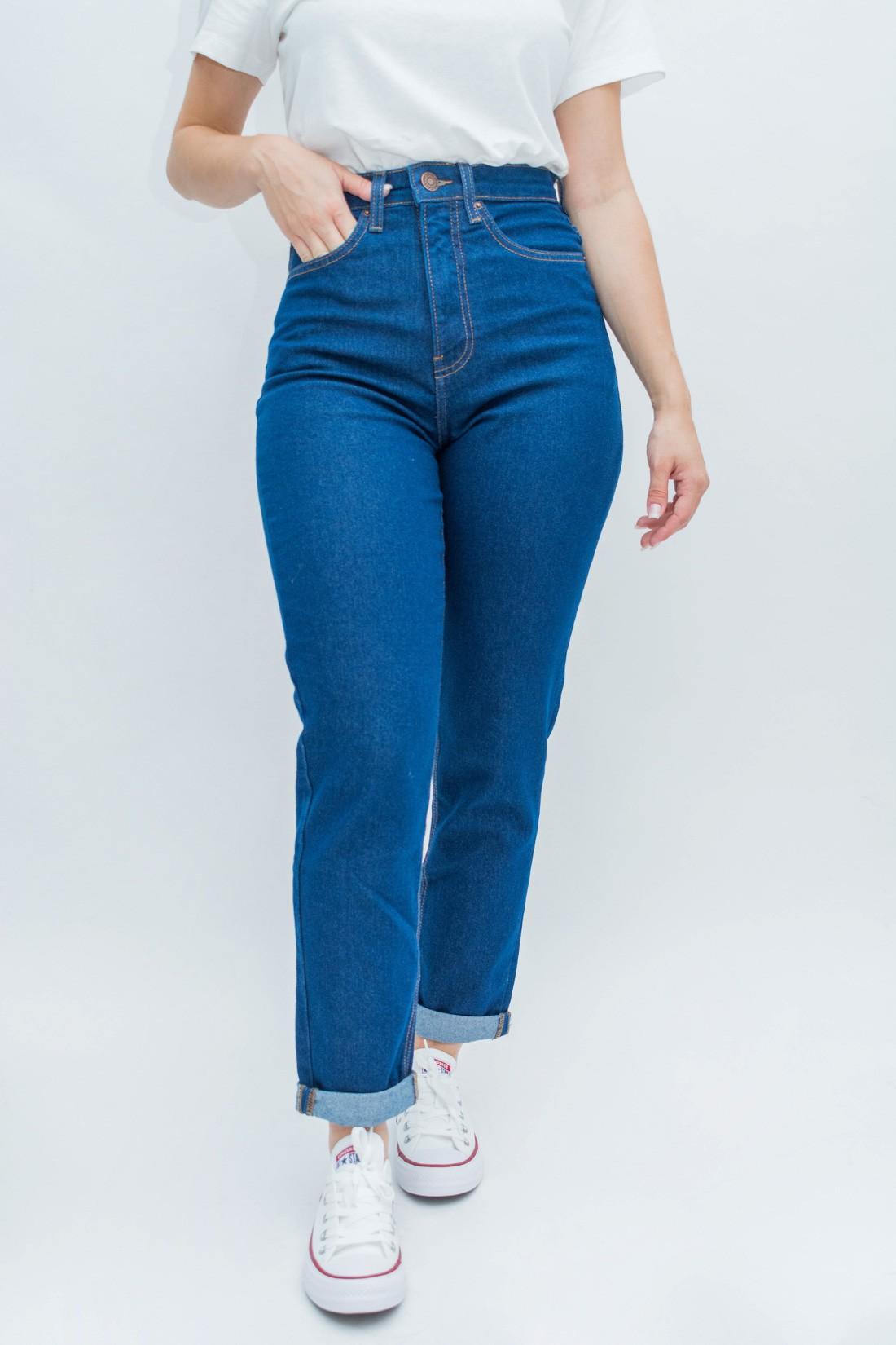 Calca Jeans Mom Calvin Klein