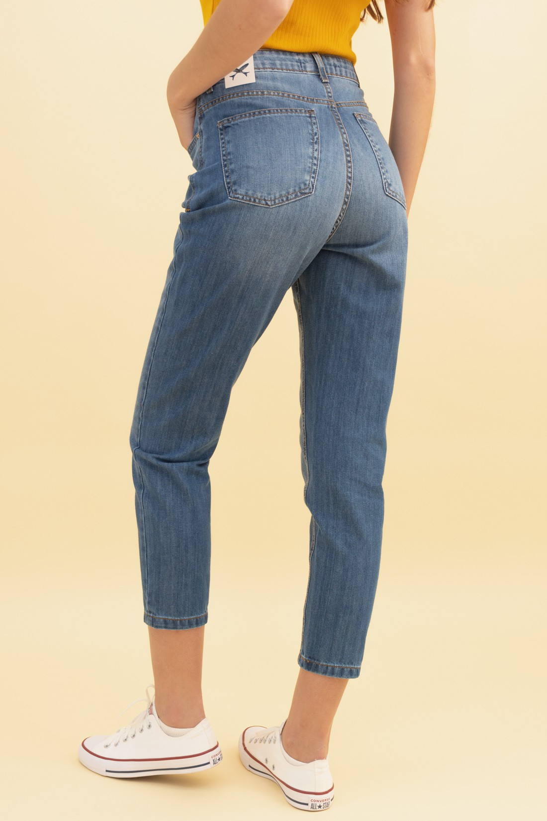 Calca Jeans Mom Hering