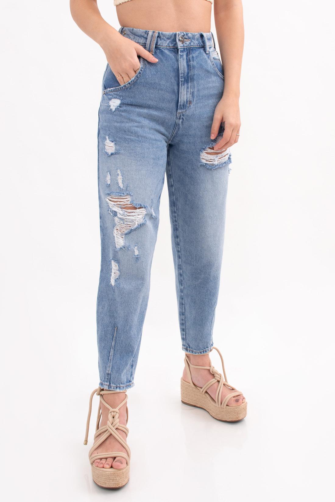 Calca Jeans Open Stela Com Cinto
