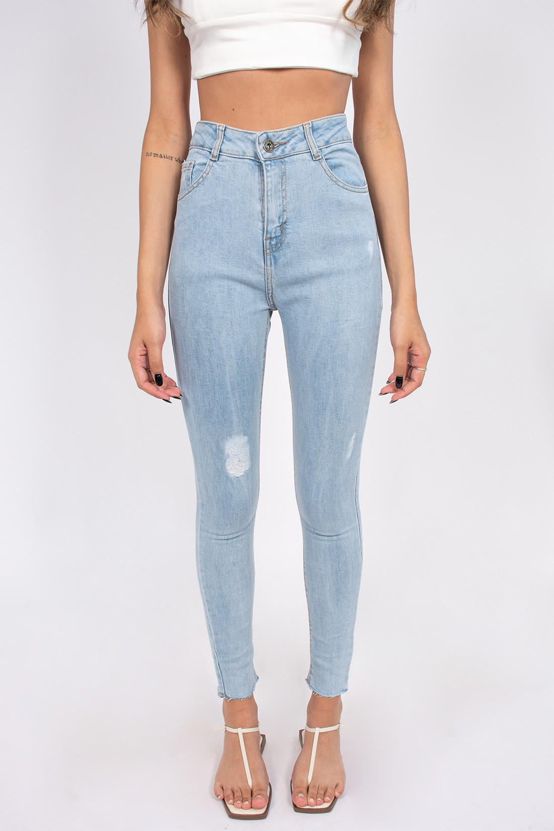 Calca Jeans Skinny Megaflex