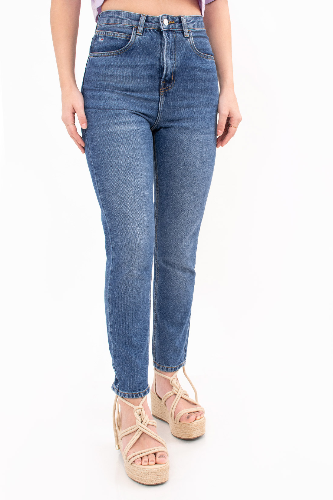 Calca Jeans Tommy Hilfiger Mom