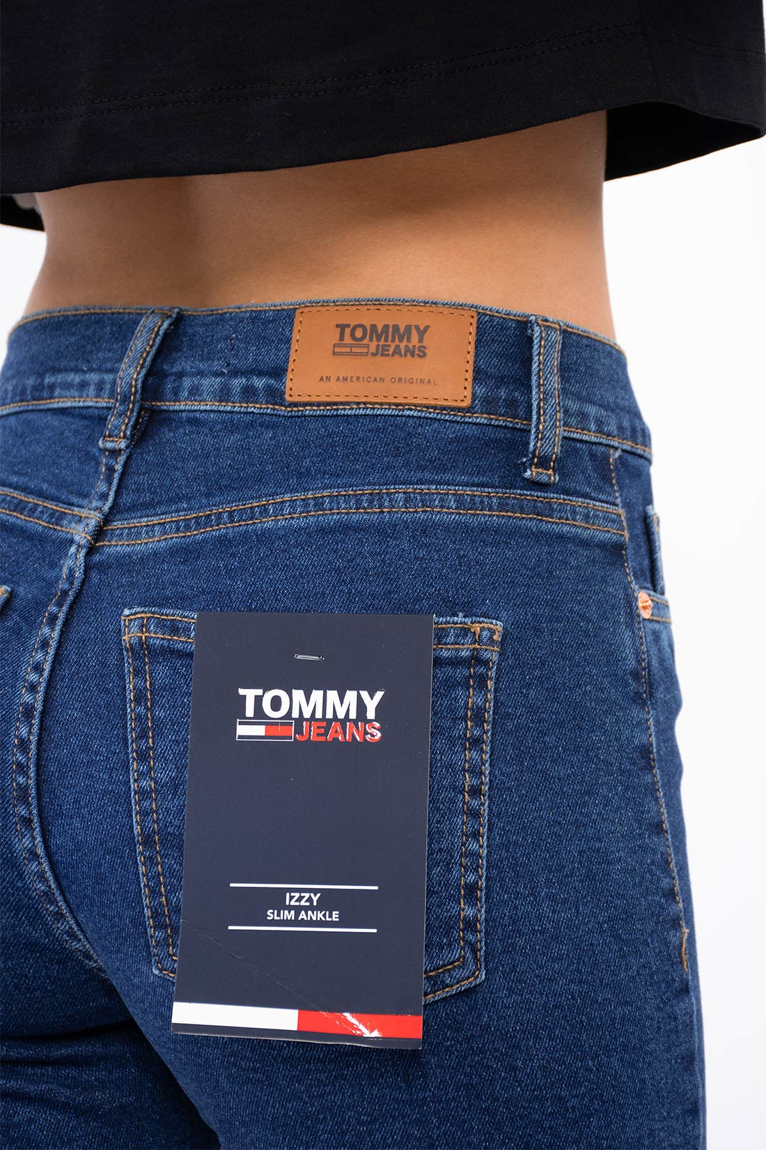 Calca Jeans Tommy Hilfiger Slim Ankle