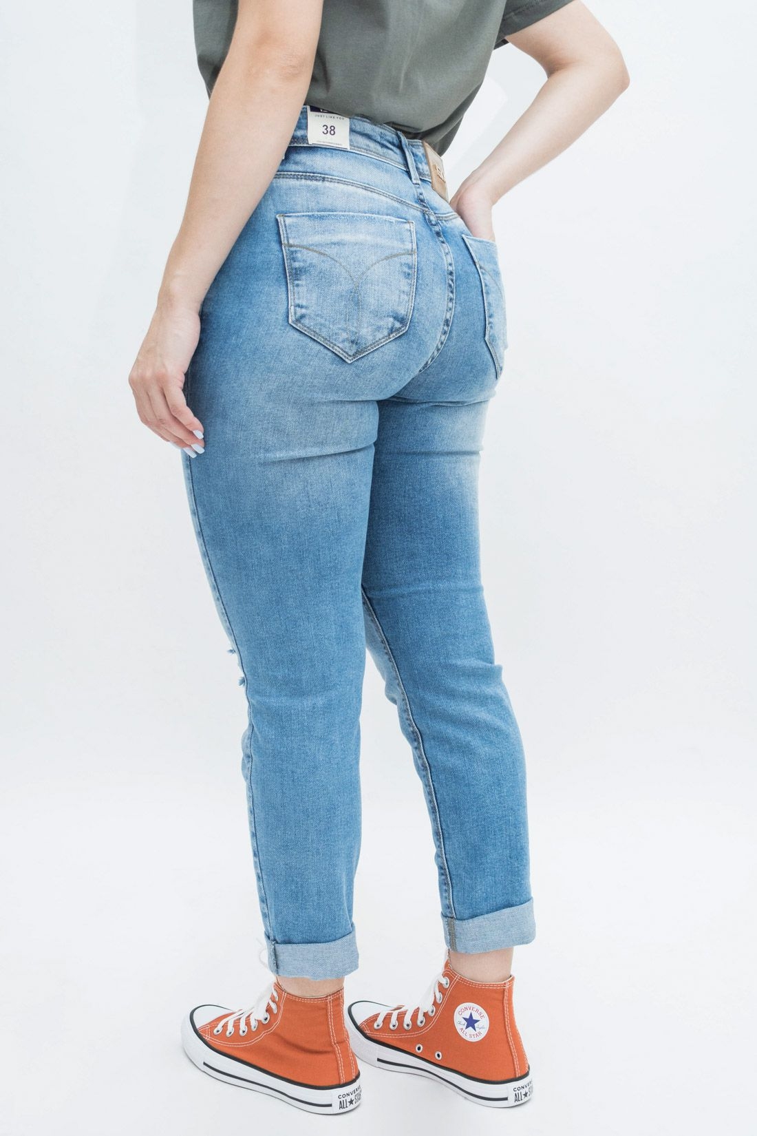 Calca Jeans Yexx Cropped