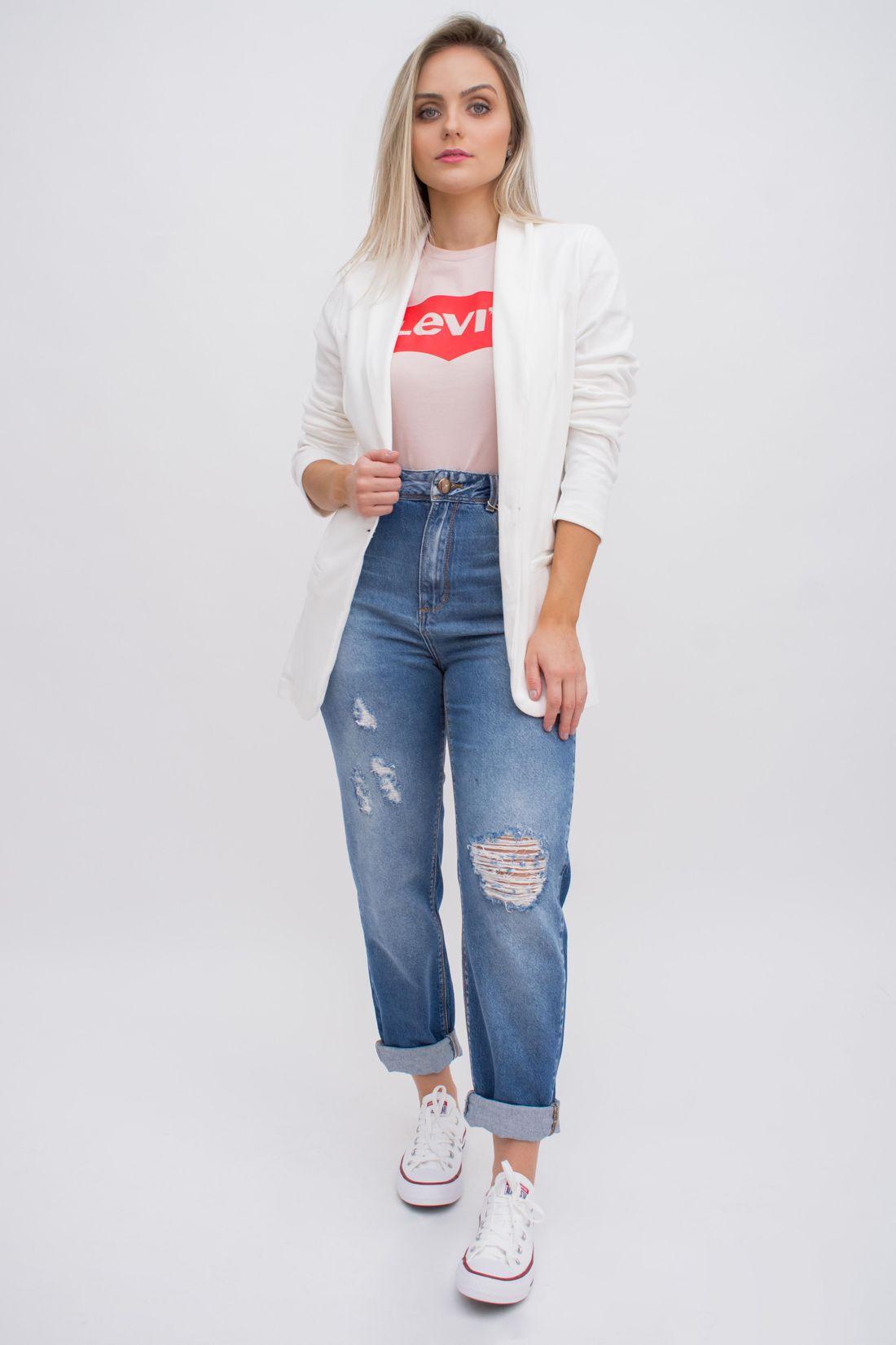 Calca Jeans Yexx Mom Fit