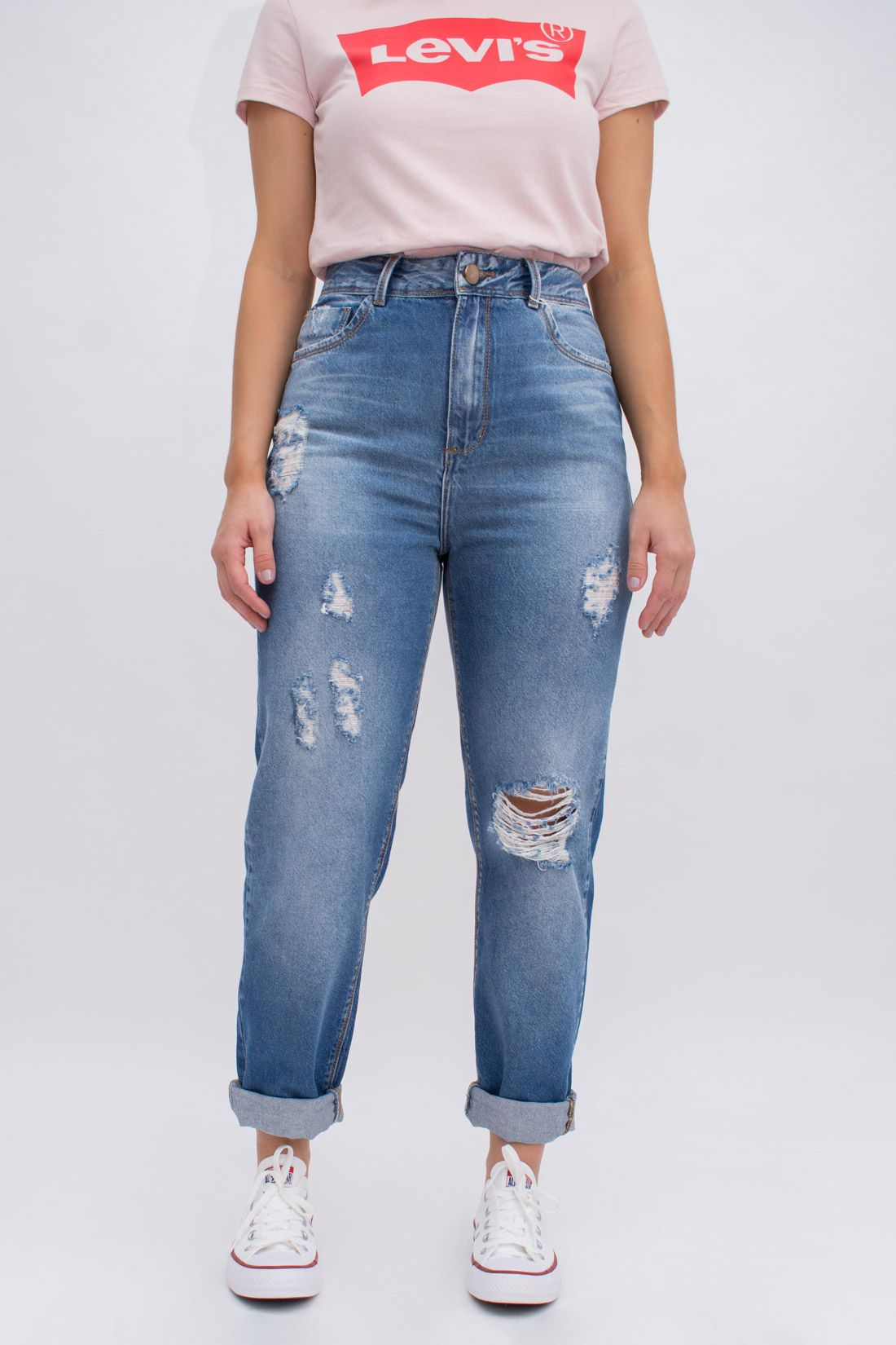 Calca Jeans Yexx Mom Fit