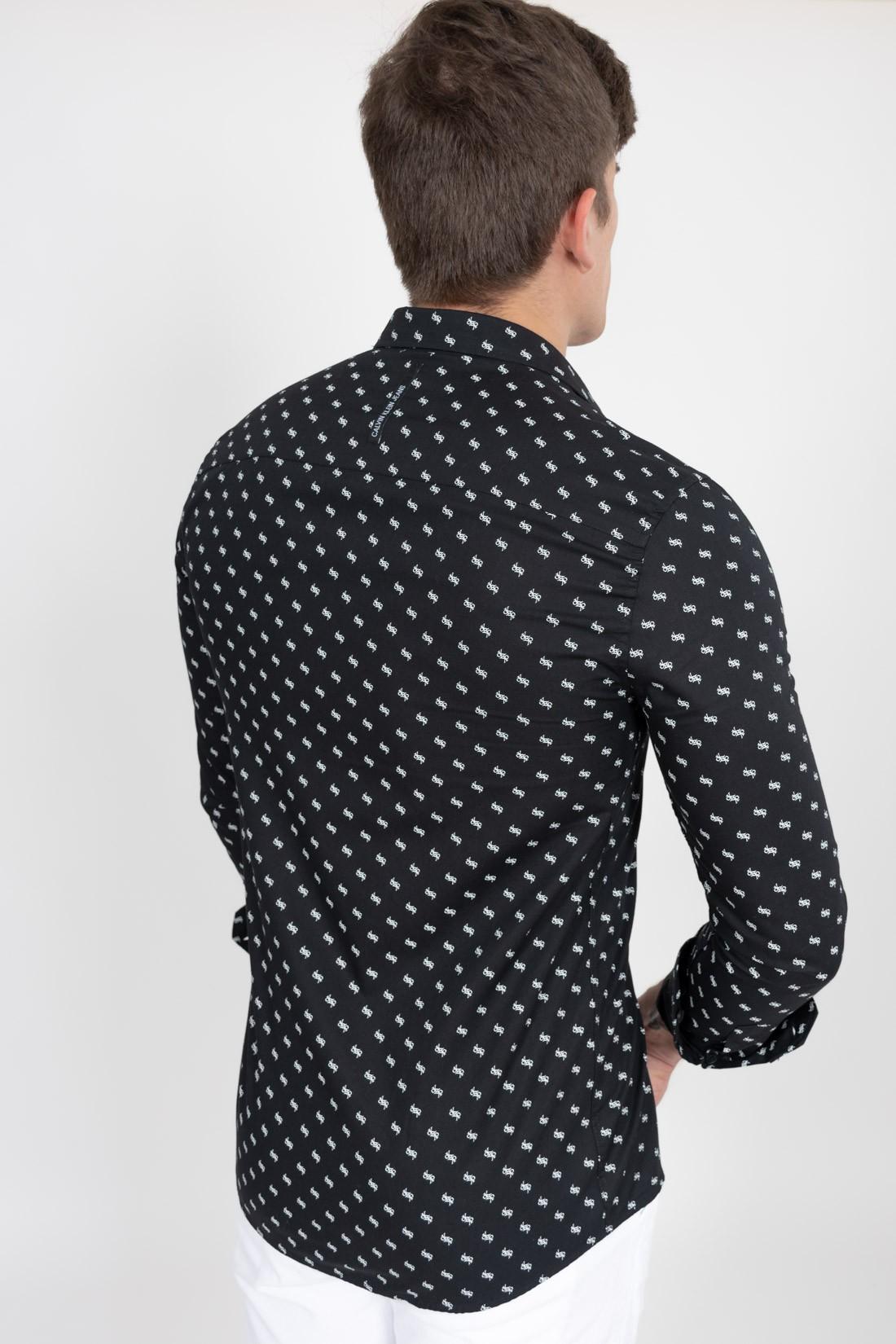 Camisa Ml Calvin Klein Mini Ck