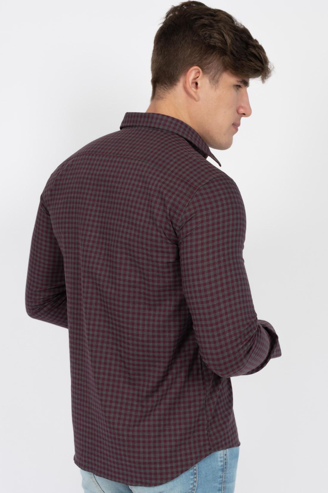Camisa Ml Individual Xadrez