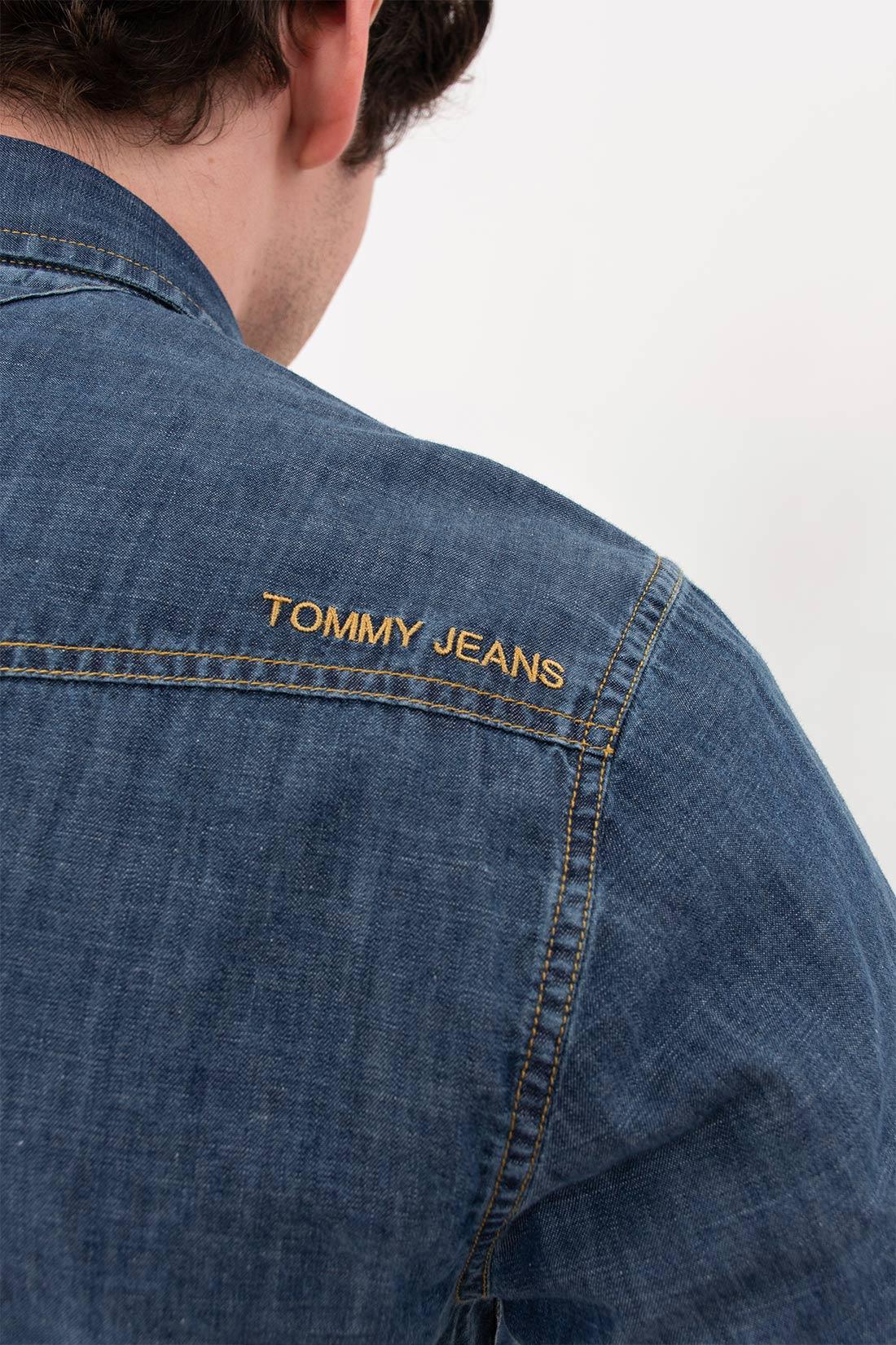 Camisa Ml Tommy Hilfiger Western