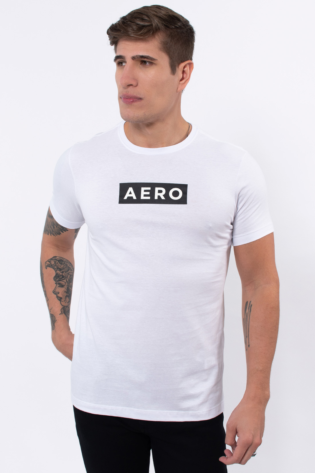 Camiseta Mc Aeropostale Logo