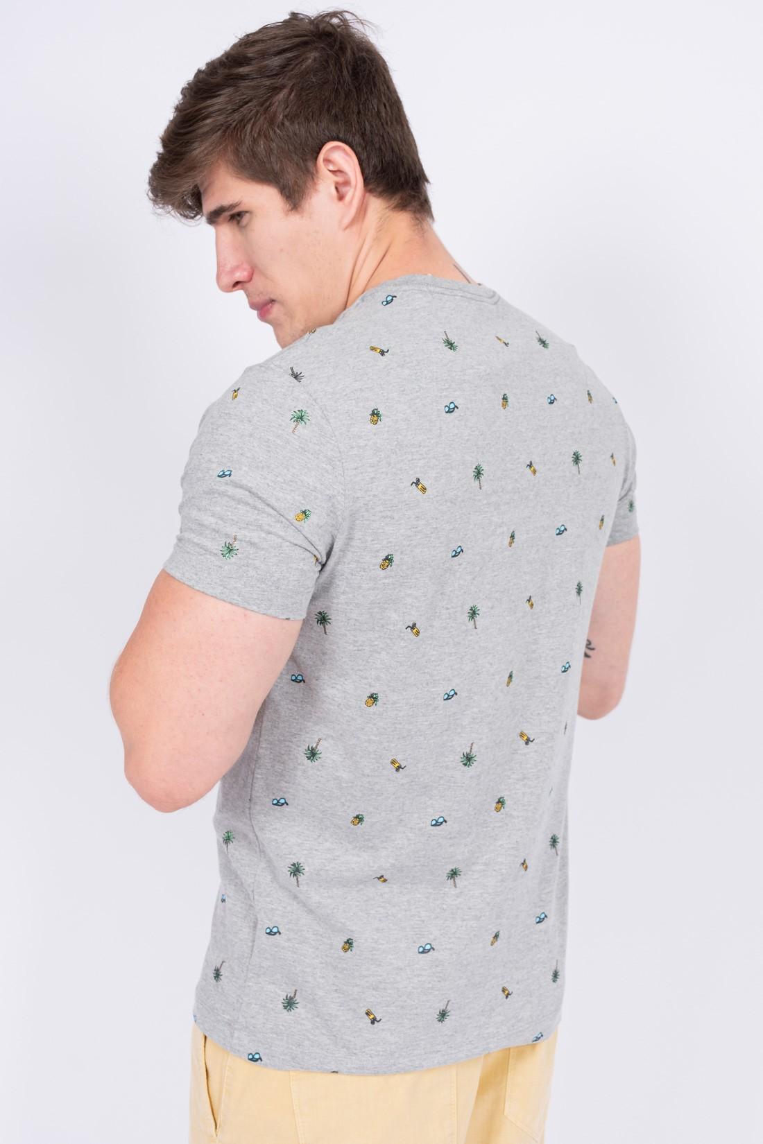 Camiseta Mc Aeropostale Mini Estampa