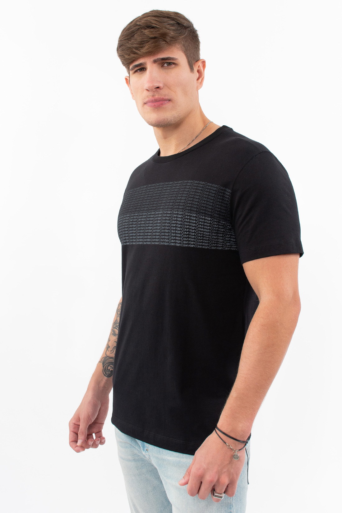 Camiseta Mc Calvin Klein Faixa Mini Logo