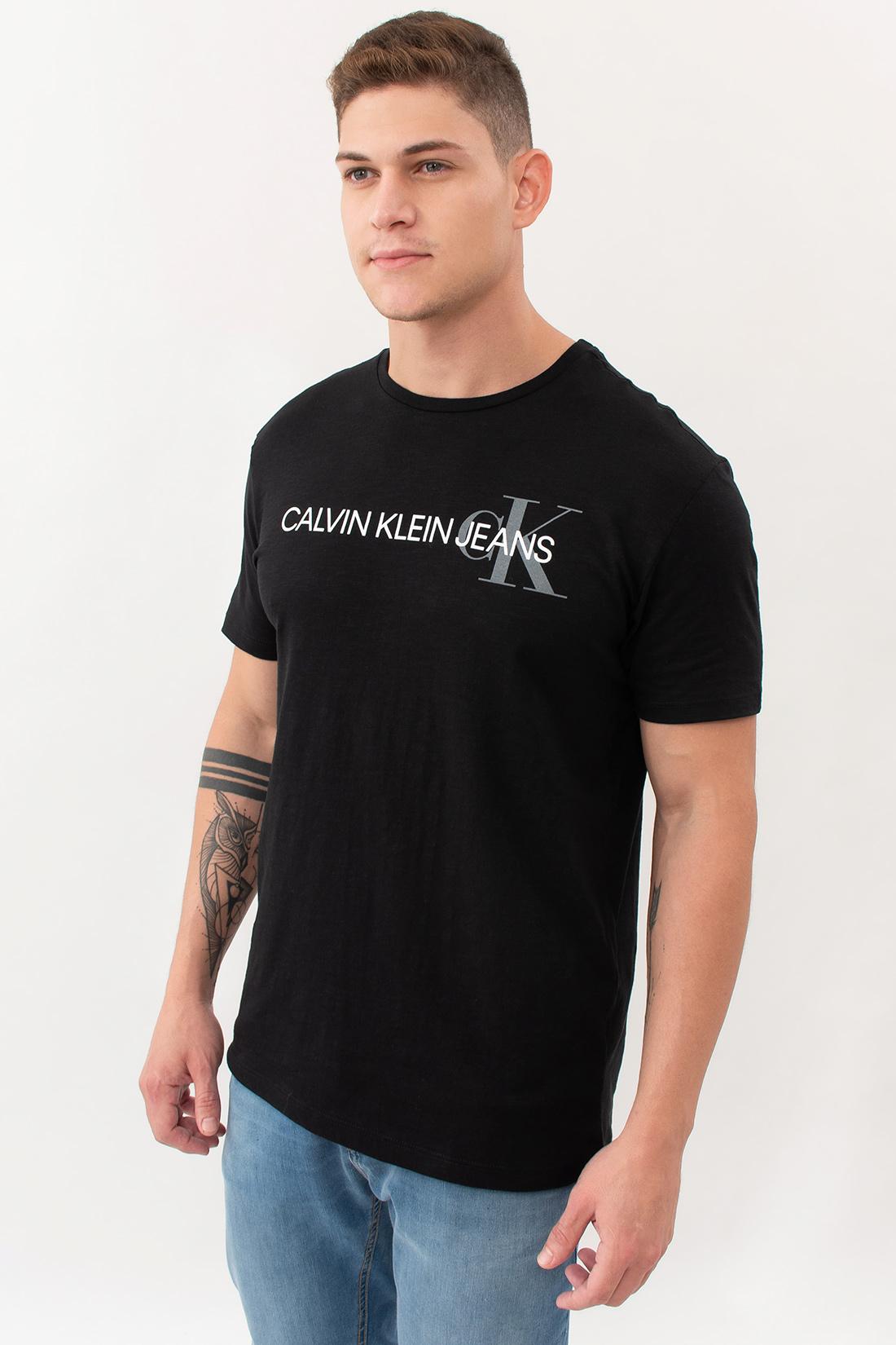 Camiseta Mc Calvin Klein Logo Centro