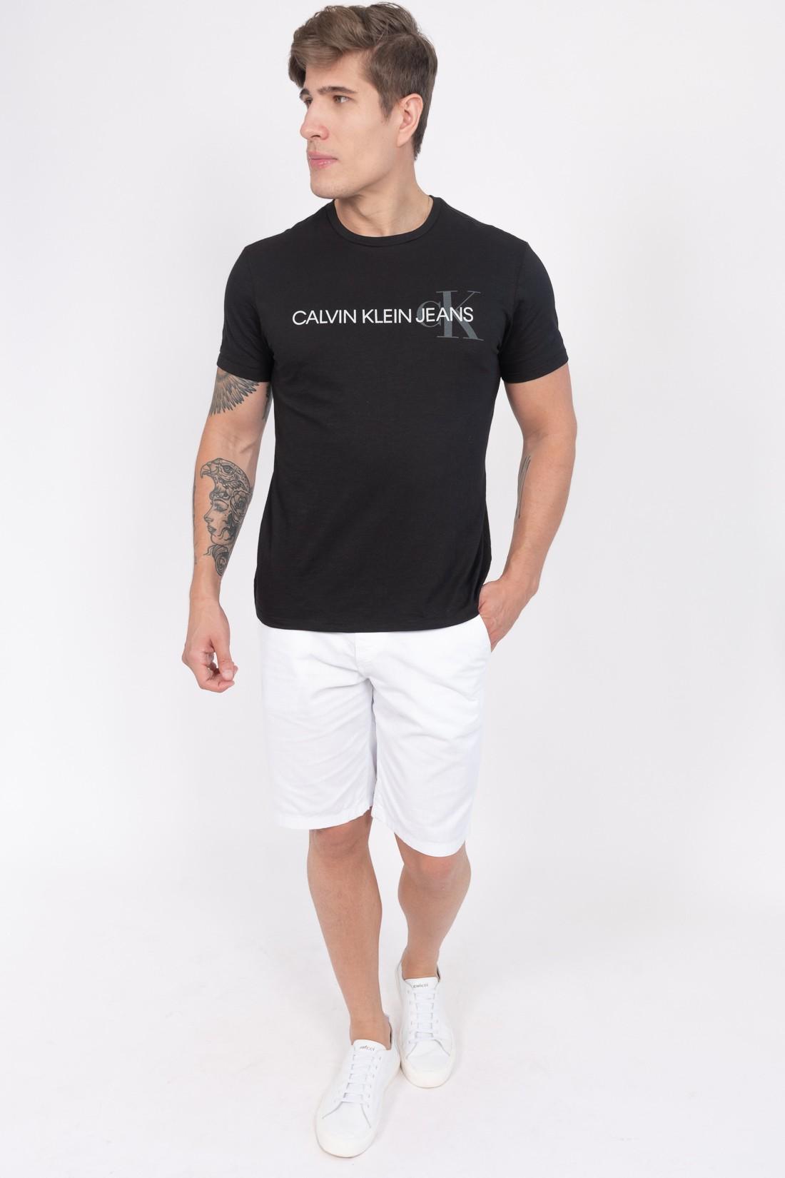 Camiseta Mc Calvin Klein Logo Ck