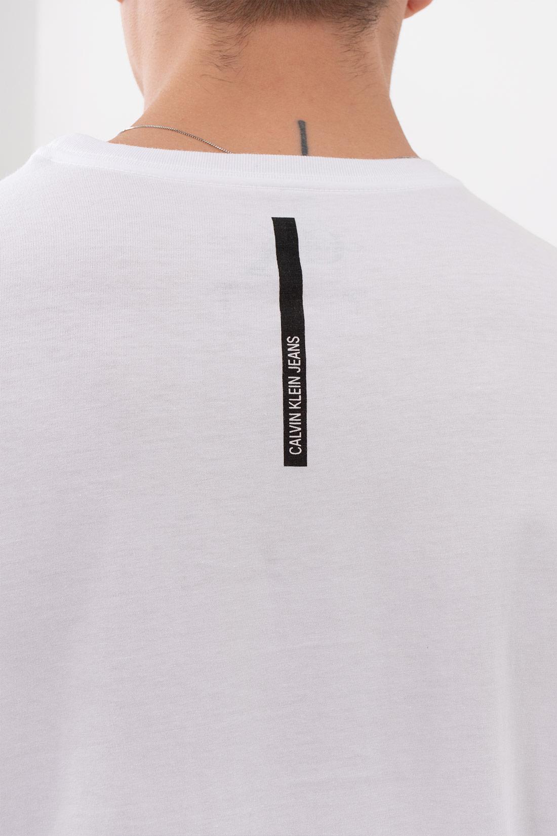 Camiseta Mc Calvin Klein Logo Retangulo