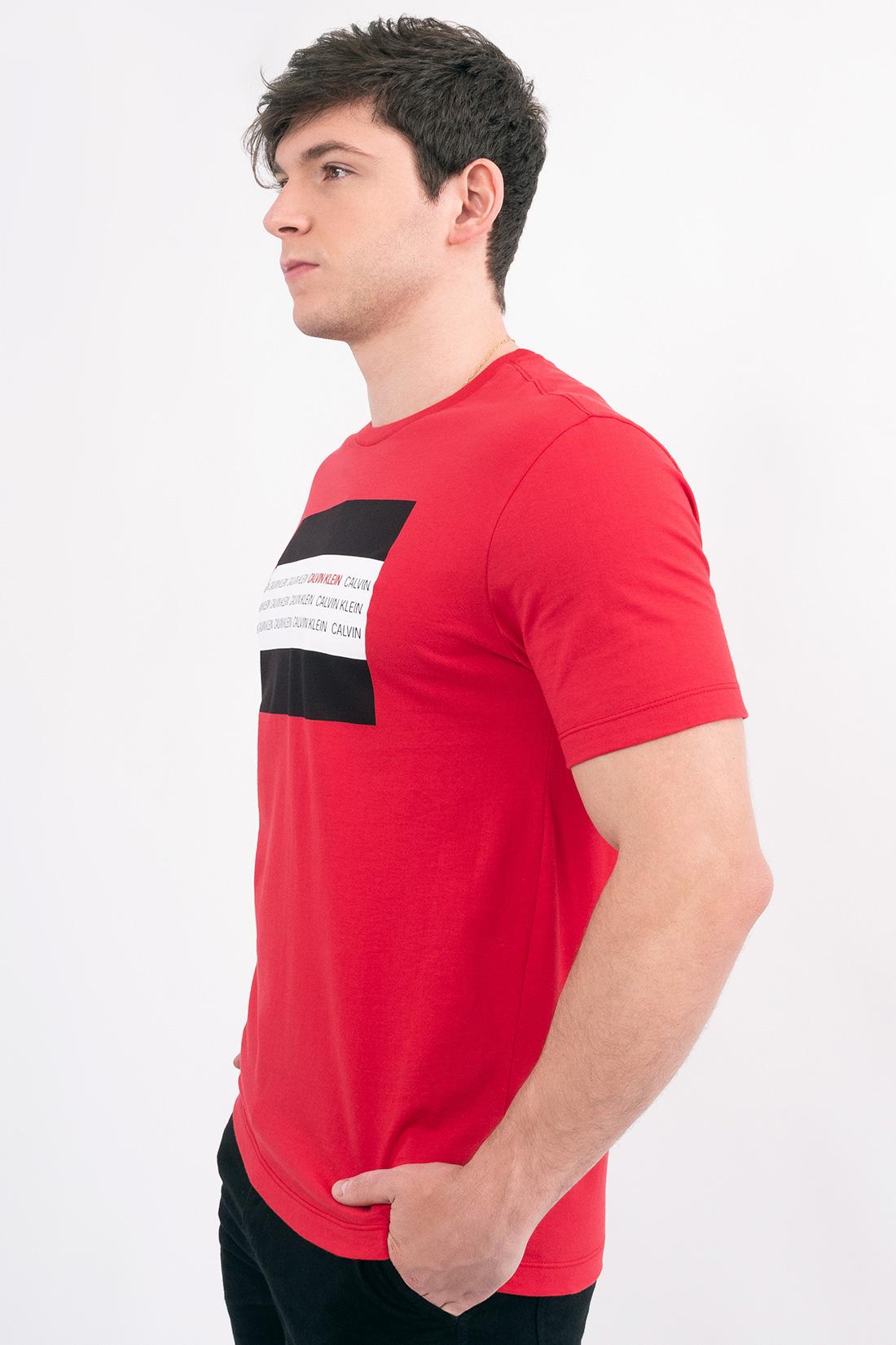 Camiseta Mc Calvin Klein Mini Logo Retangulo