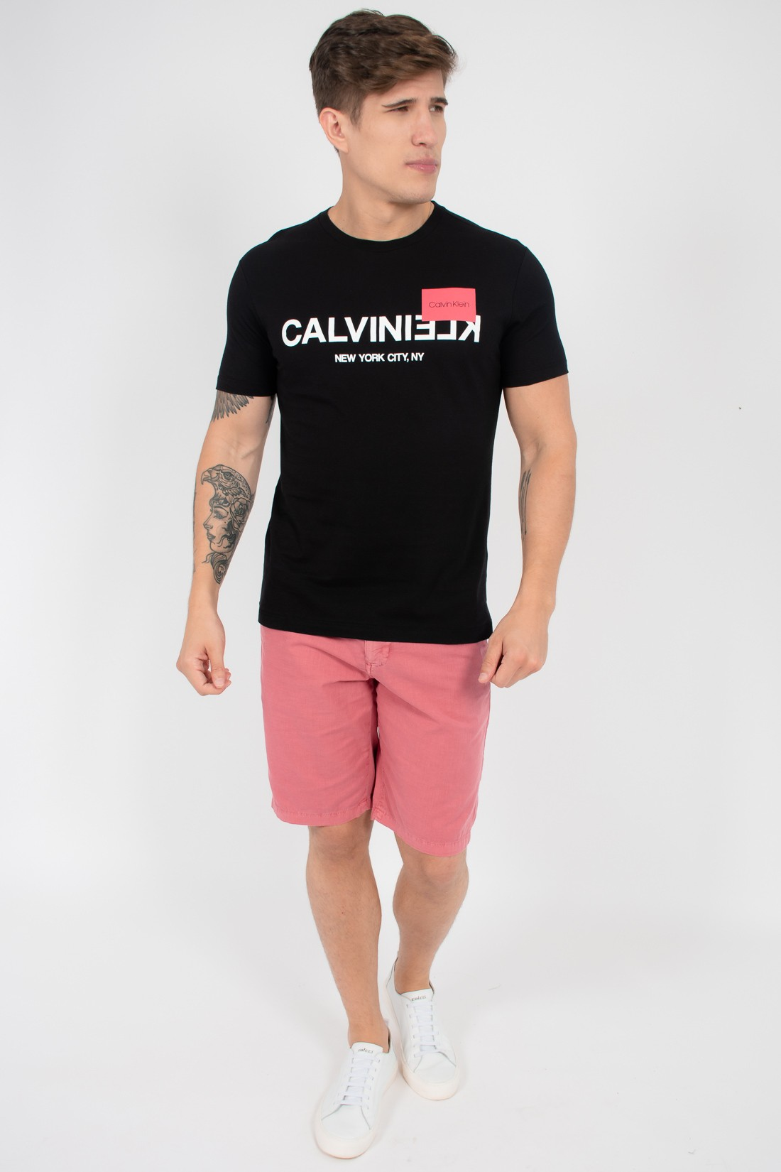 Camiseta Mc Calvin Klein New York City