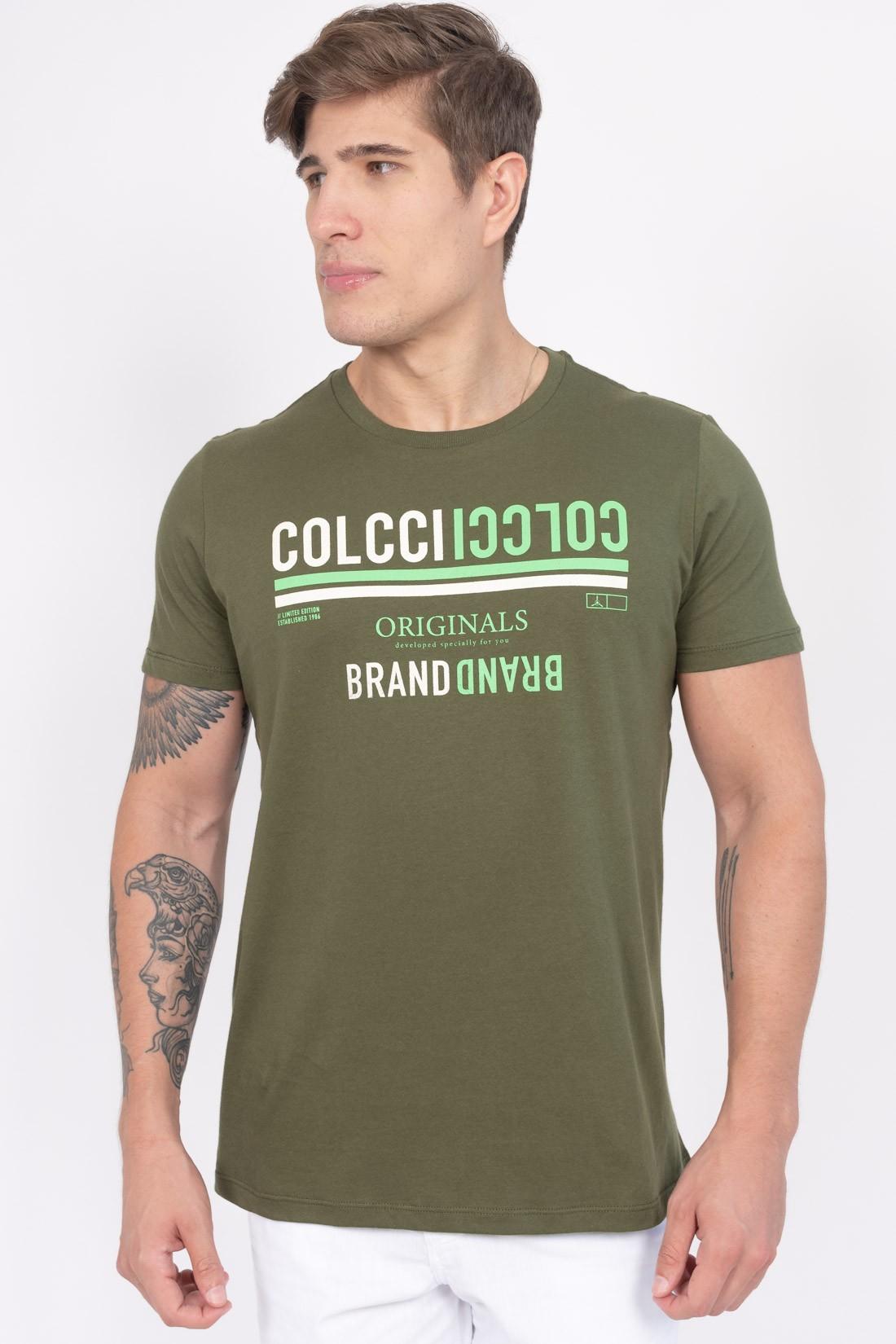 Camiseta Mc Colcci Brand
