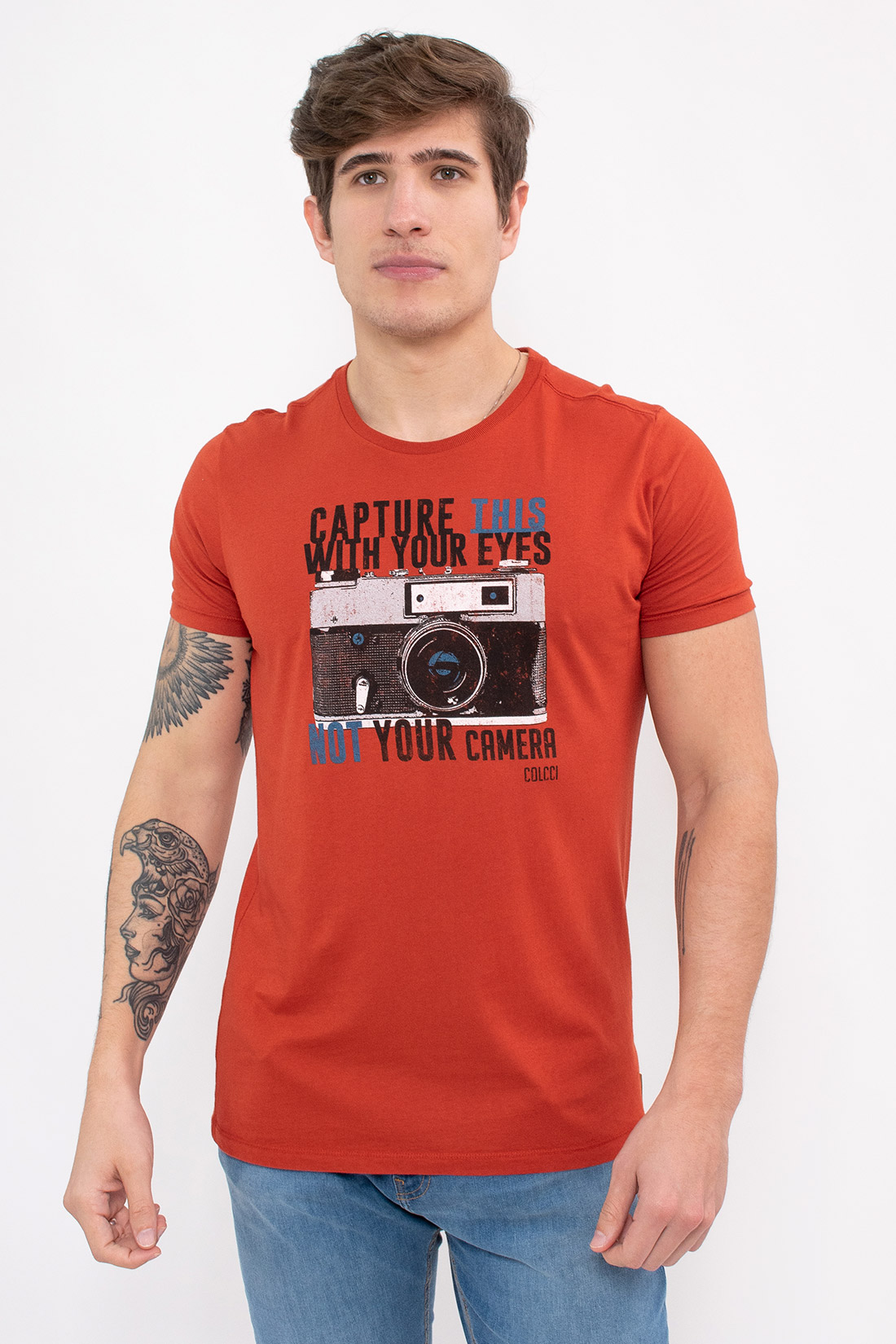 Camiseta Mc Colcci Capture This With Your Eyes