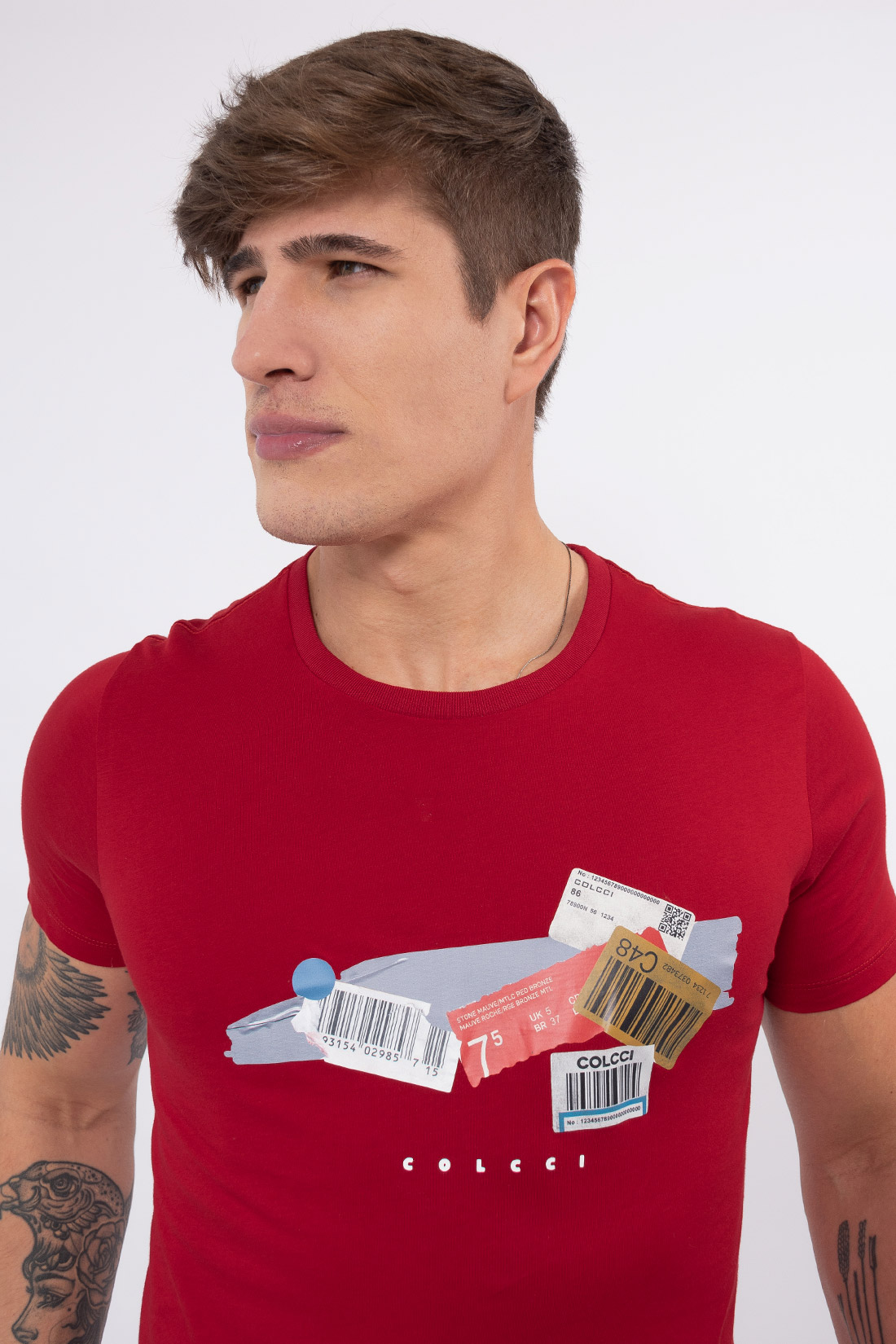 Camiseta Mc Colcci Etiquetas