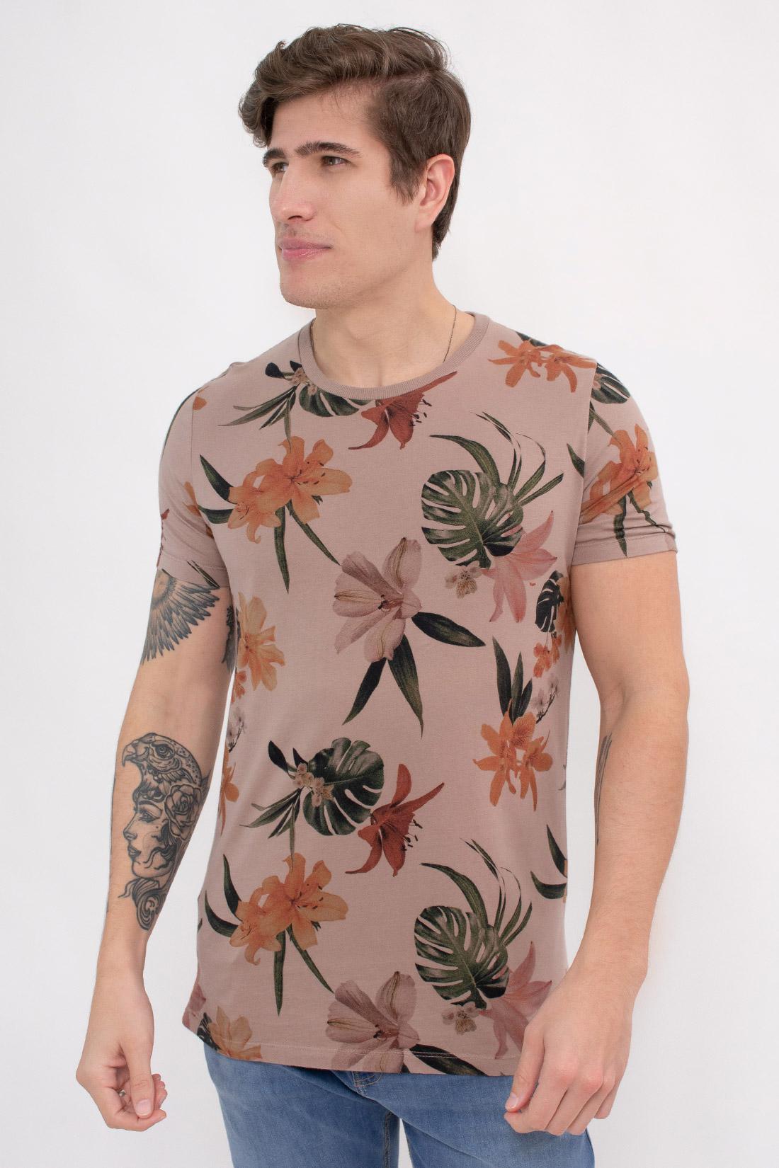 Camiseta Mc Colcci Floral