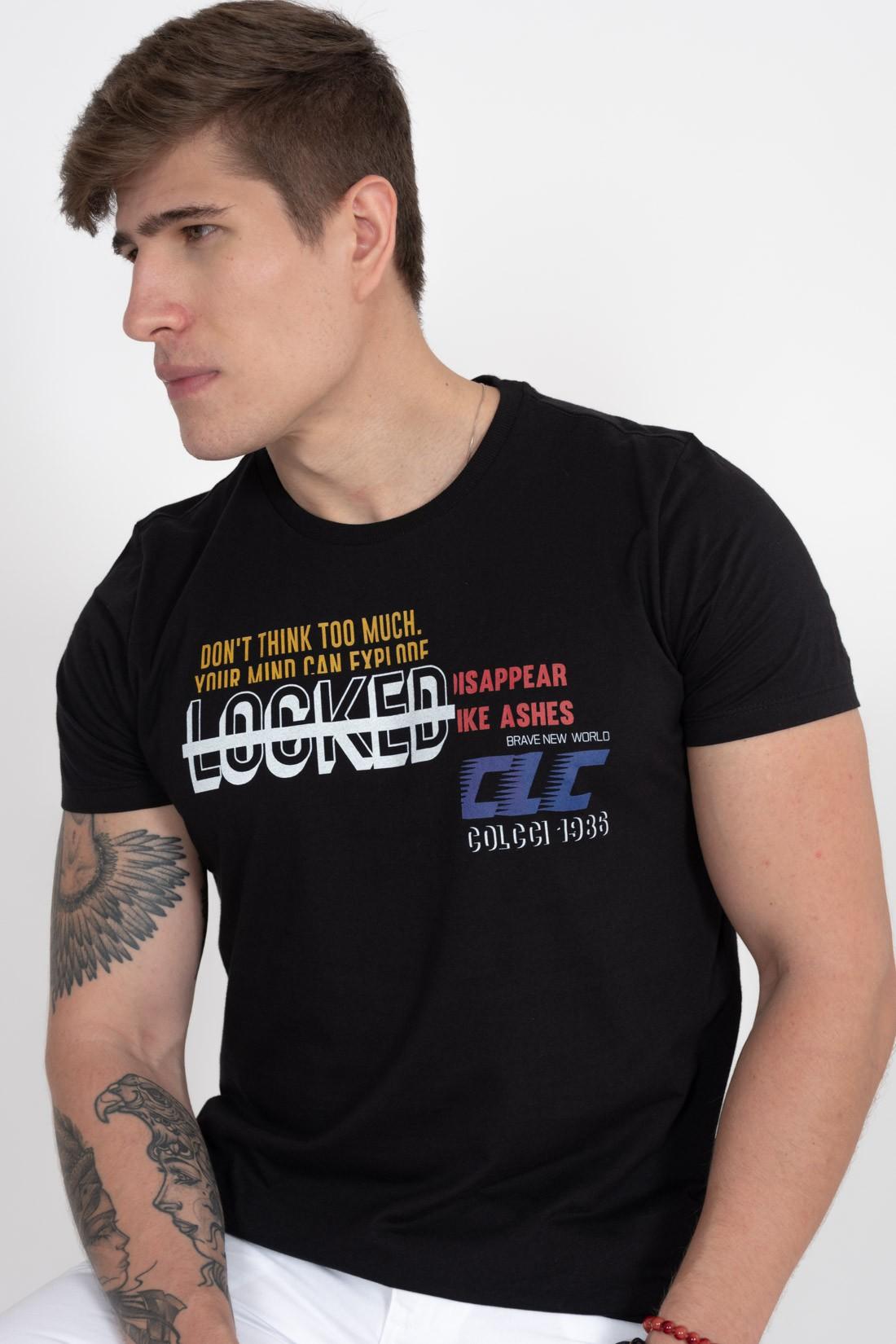 Camiseta Mc Colcci Locked