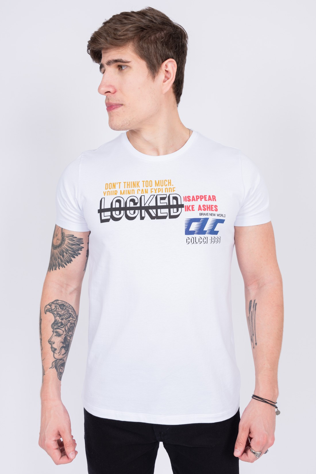Camiseta Mc Colcci Locked