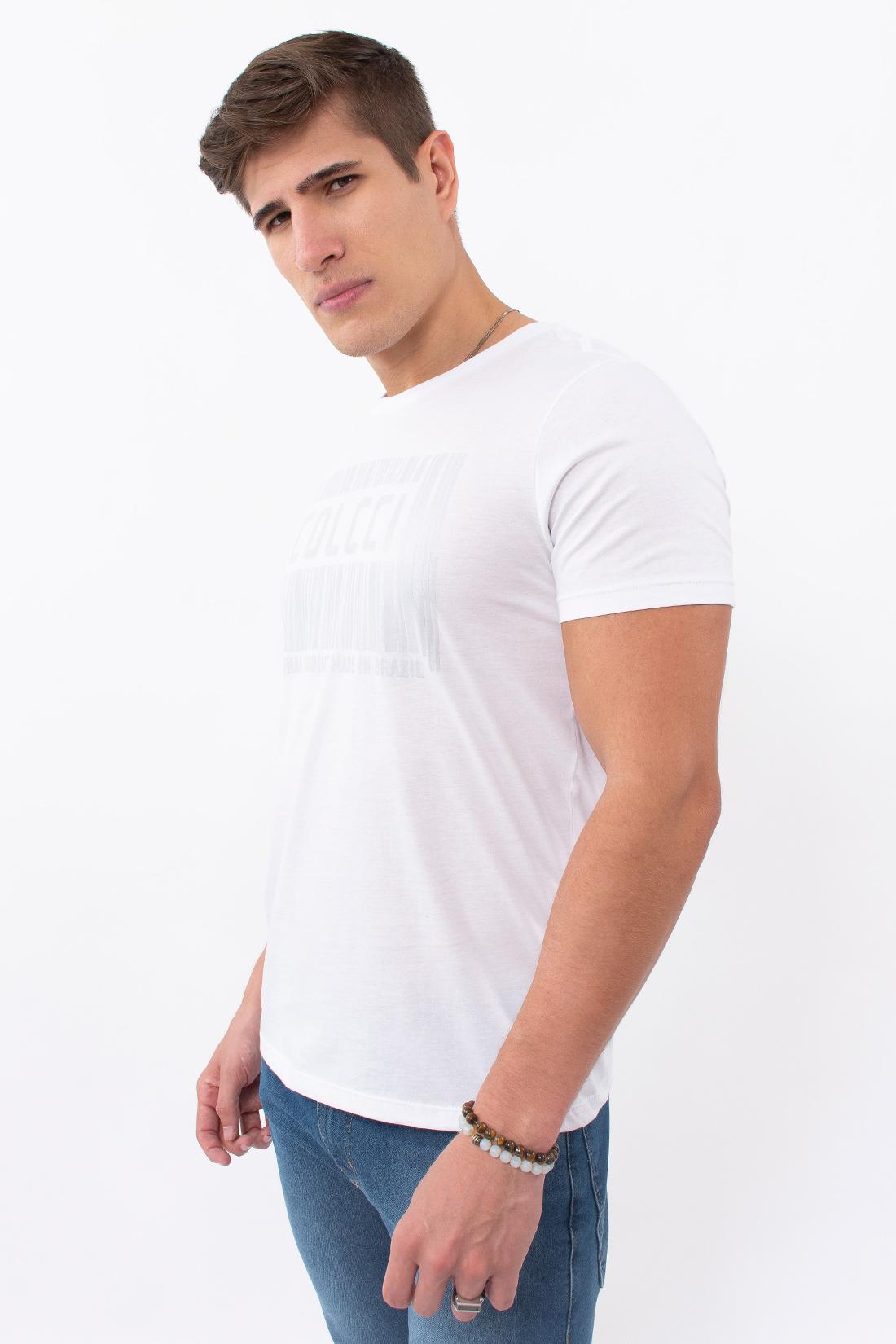 Camiseta Mc Colcci Logo Barras