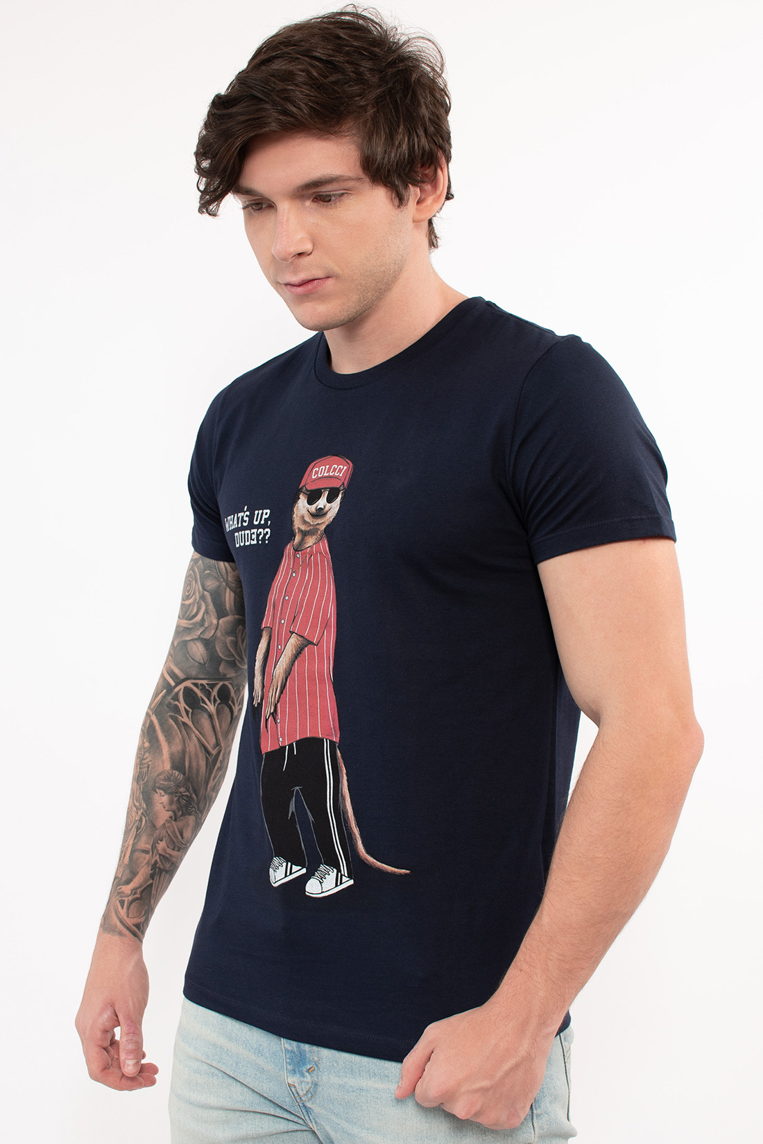 Camiseta Mc Colcci Whats Up Dude
