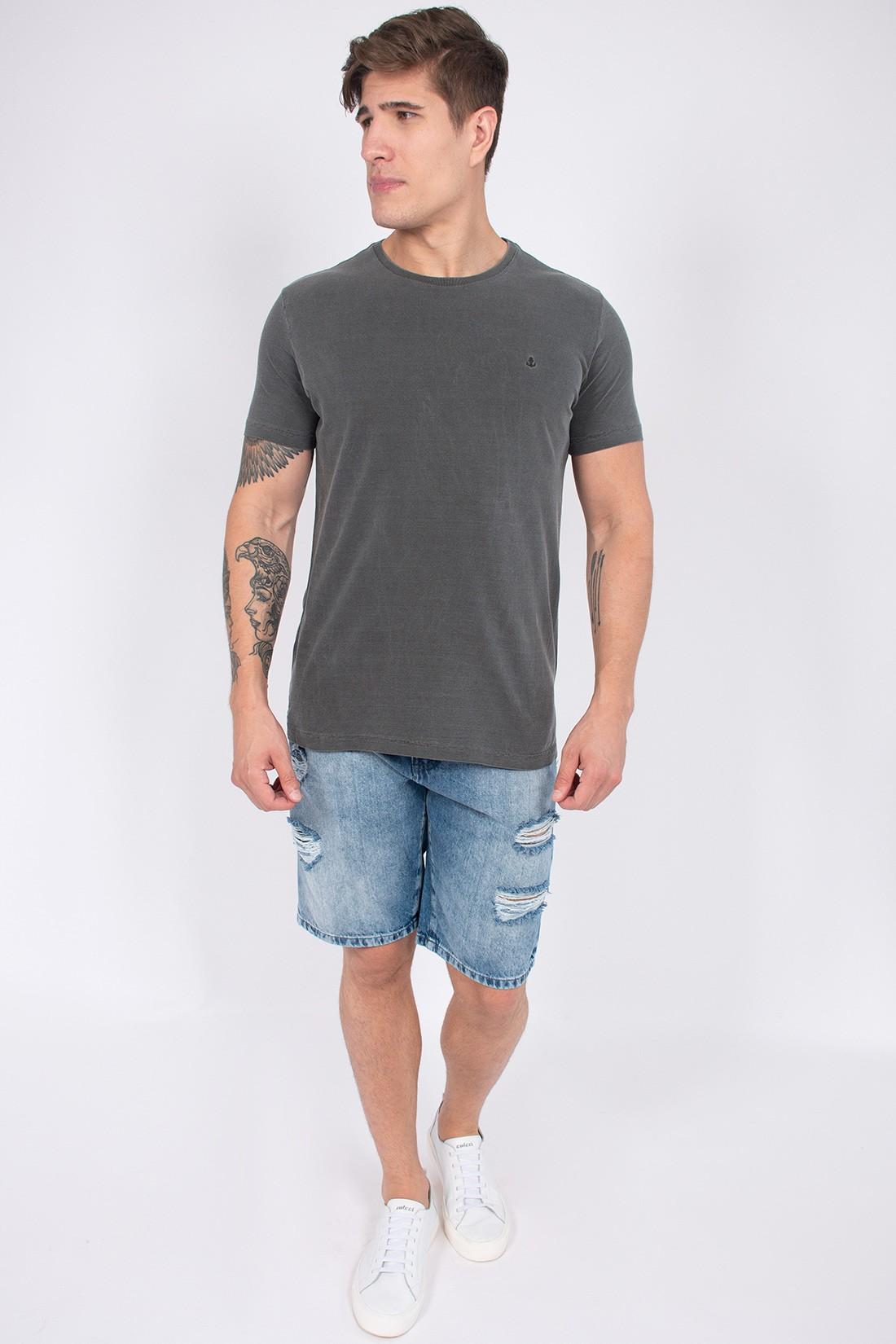 Camiseta Mc King&Joe Basica Estonada
