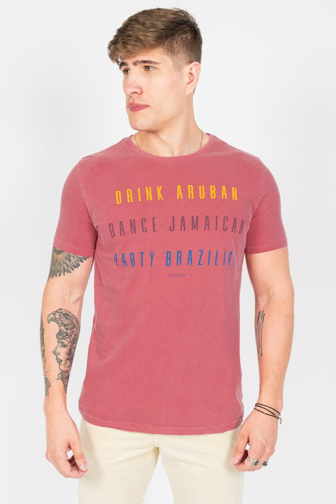 Camiseta Mc King&Joe Drink Aruba