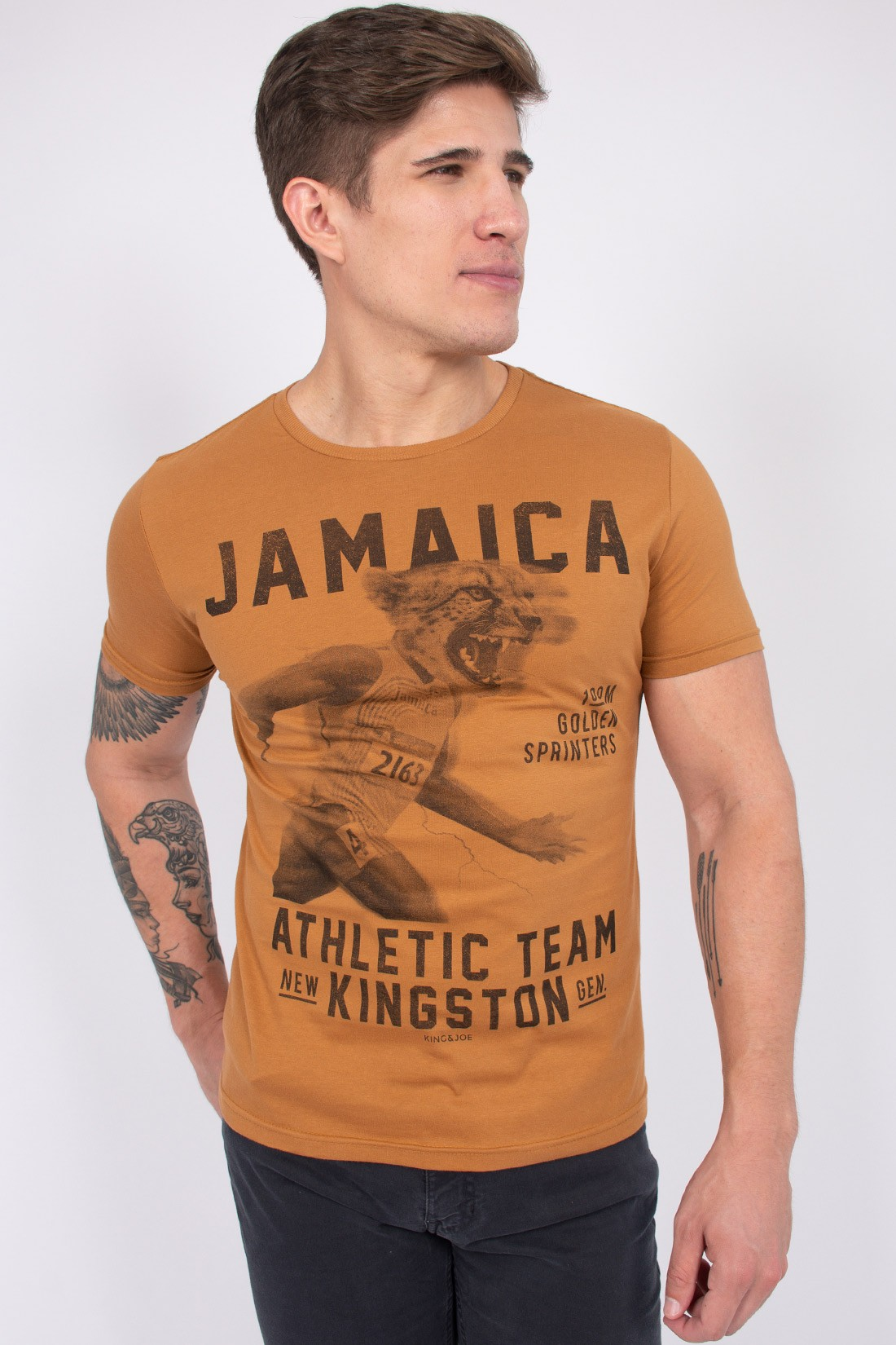 Camiseta Mc King&Joe Jamaica