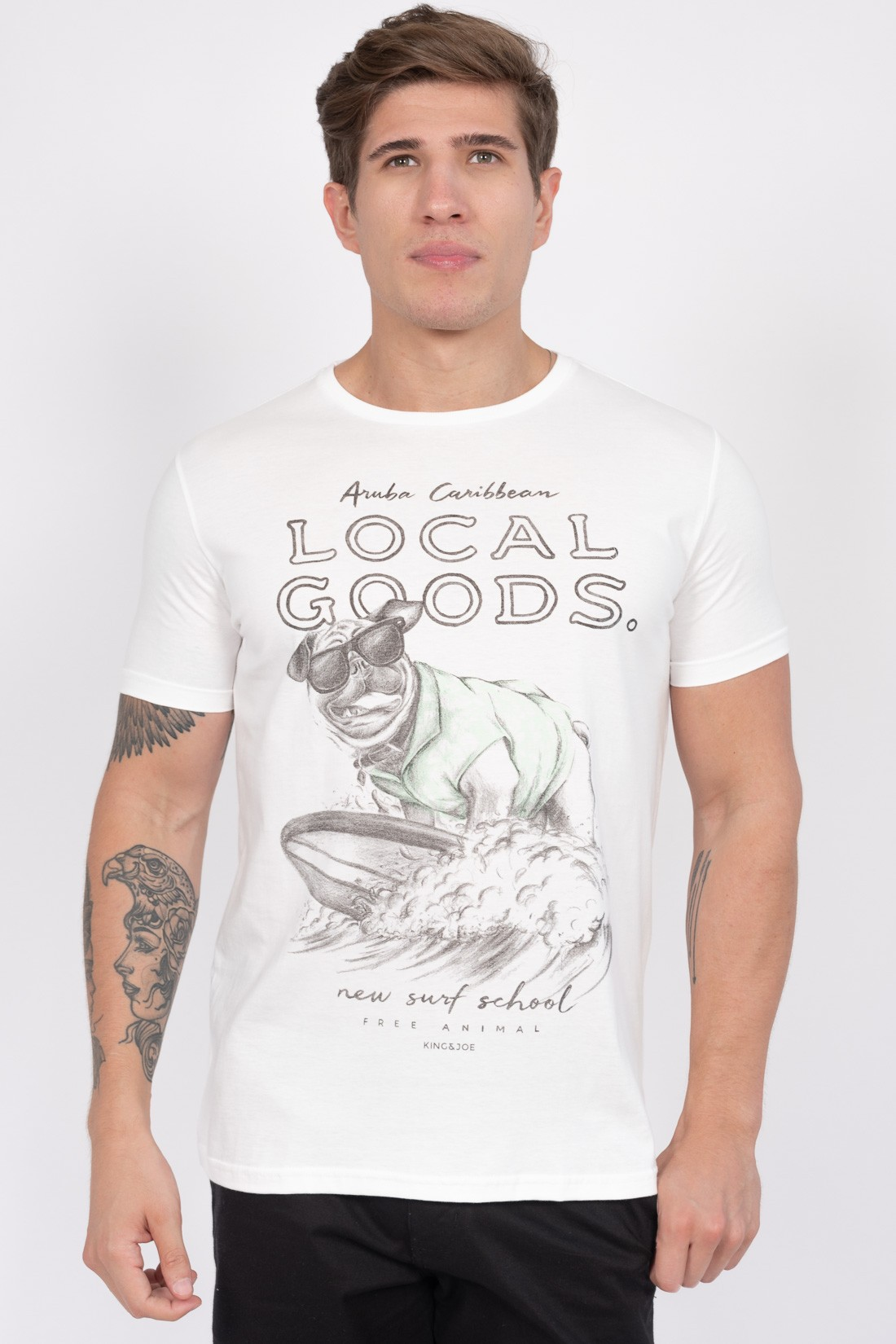Camiseta Mc King&Joe Local Goods