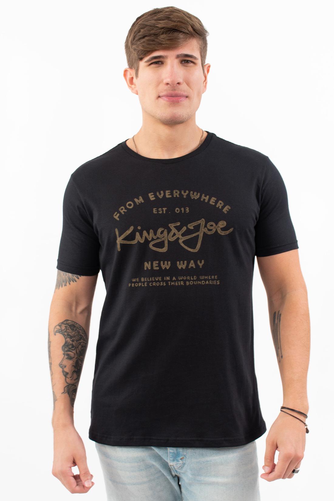 Camiseta Mc King&Joe New Way