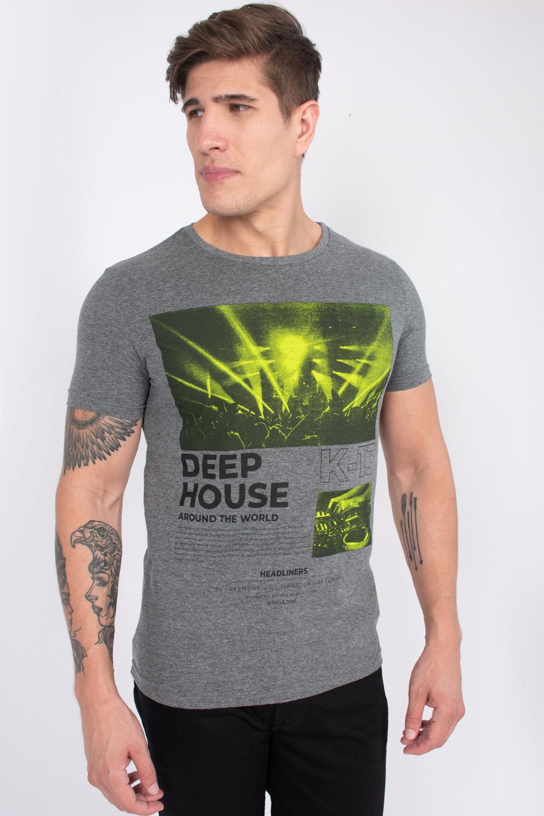 Camiseta Mc King&Joe Show Deep House