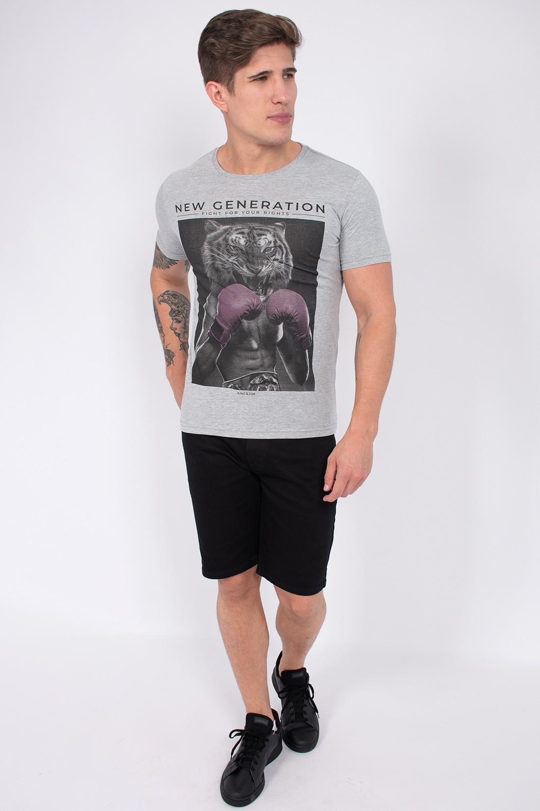 Camiseta Mc King&Joe Tigre Boxeador