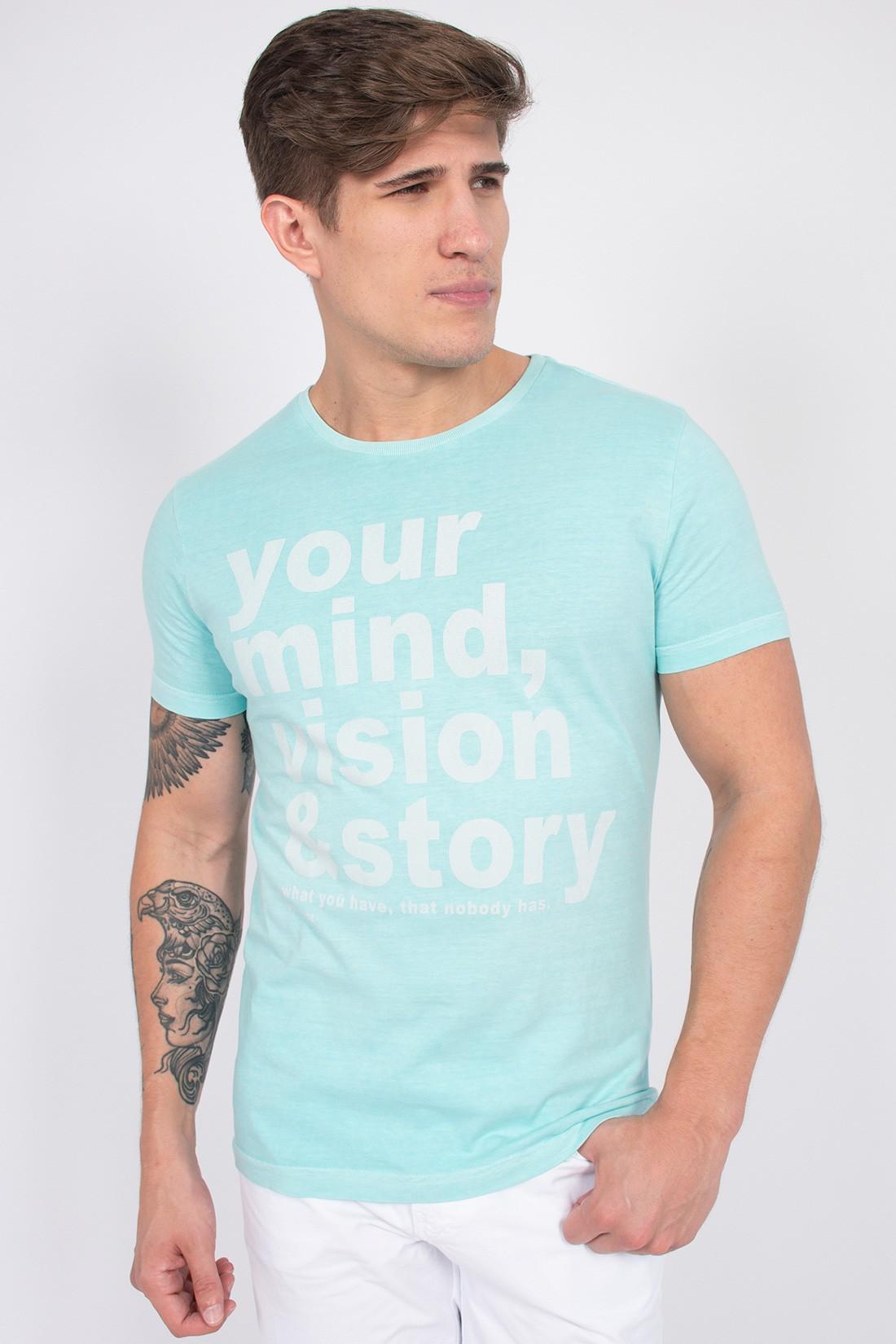 Camiseta Mc King&Joe Your Mind Vision E Story