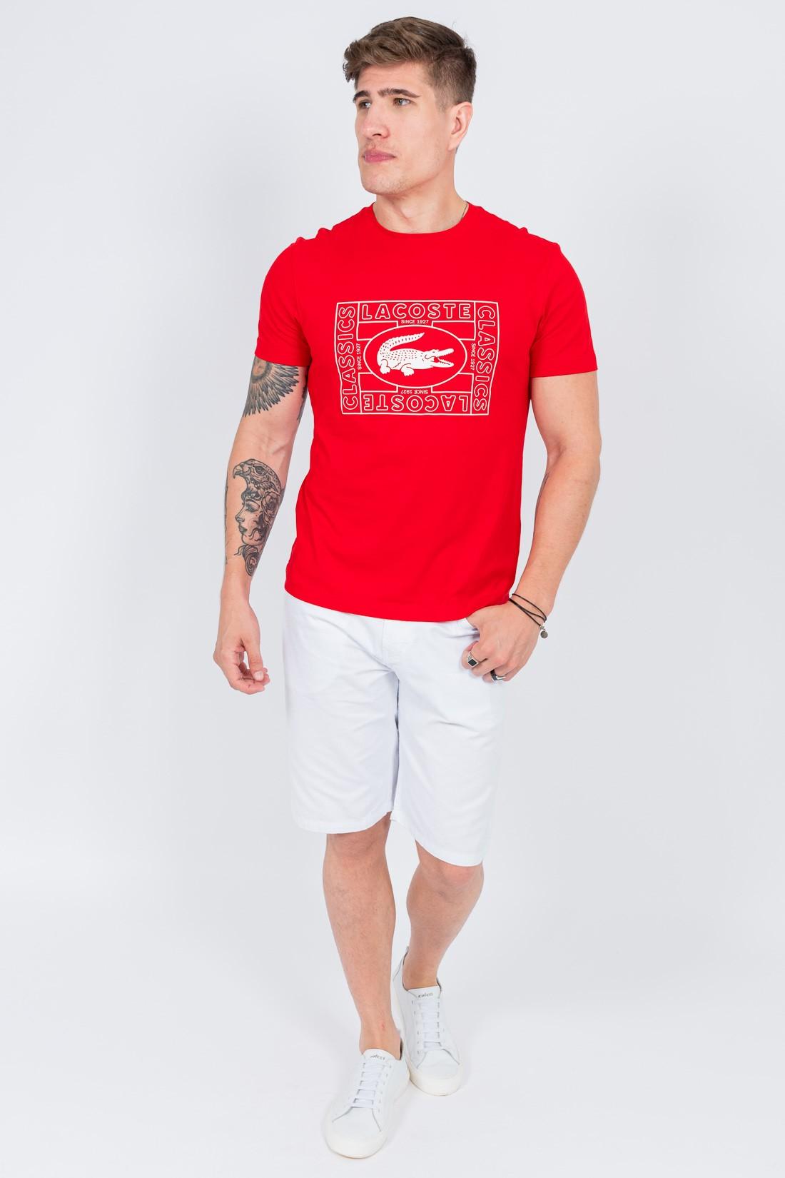 Camiseta Mc Lacoste Classics