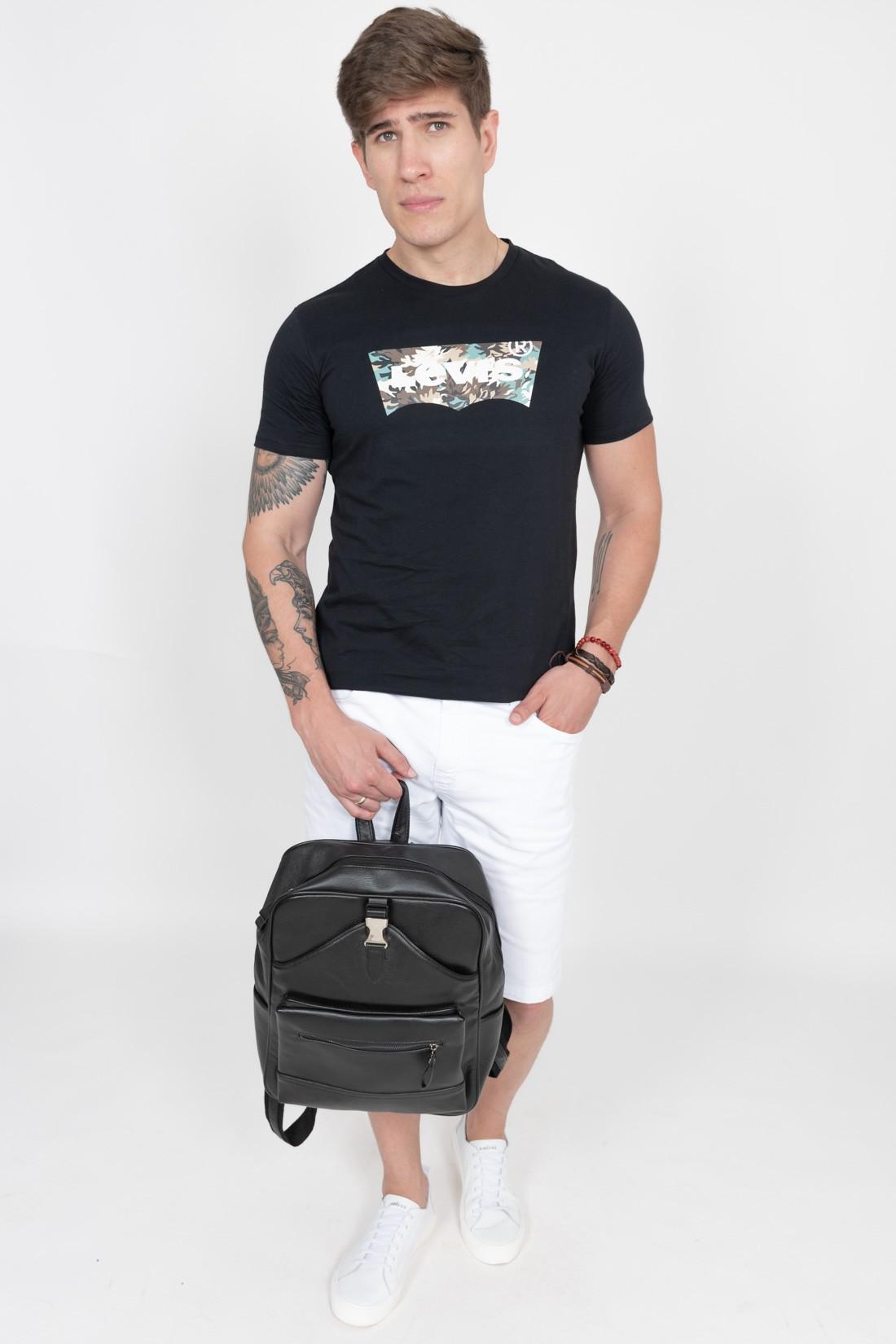 Camiseta Mc Levis Classic Camuflada