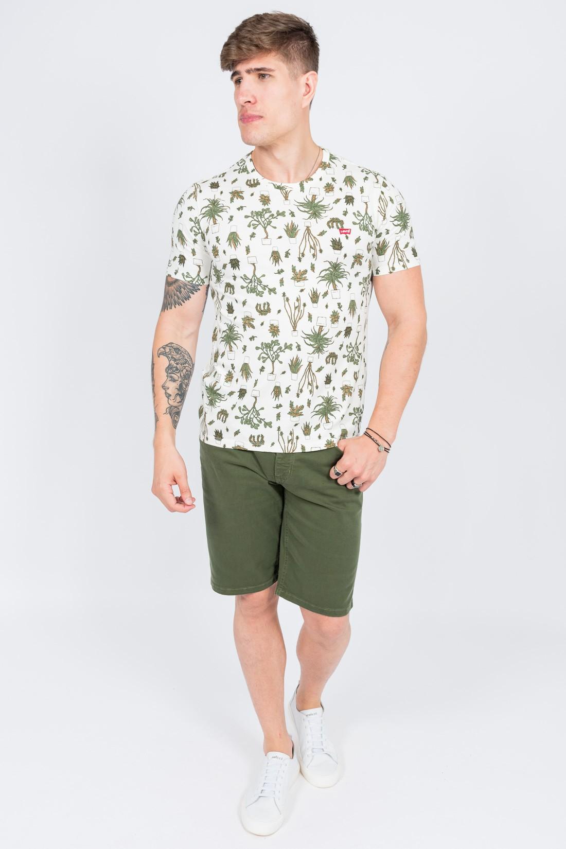Camiseta Mc Levis Plantas