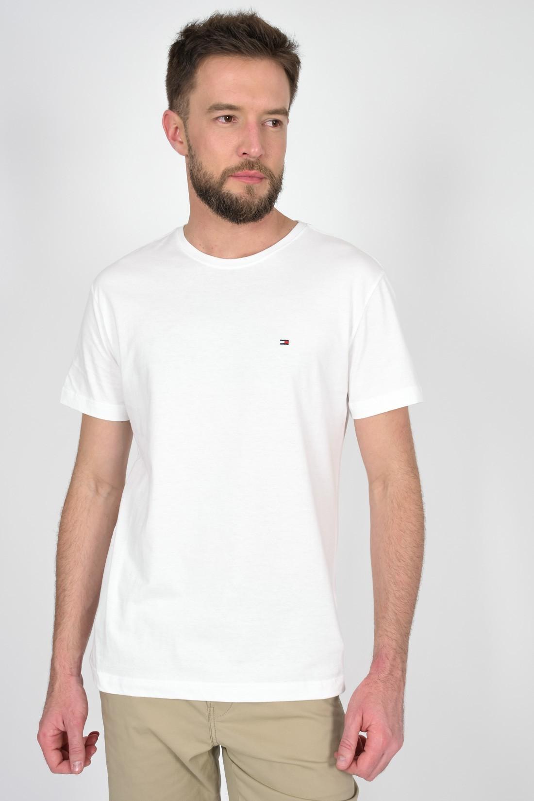 Camiseta Mc Tommy Hilfiger Basica