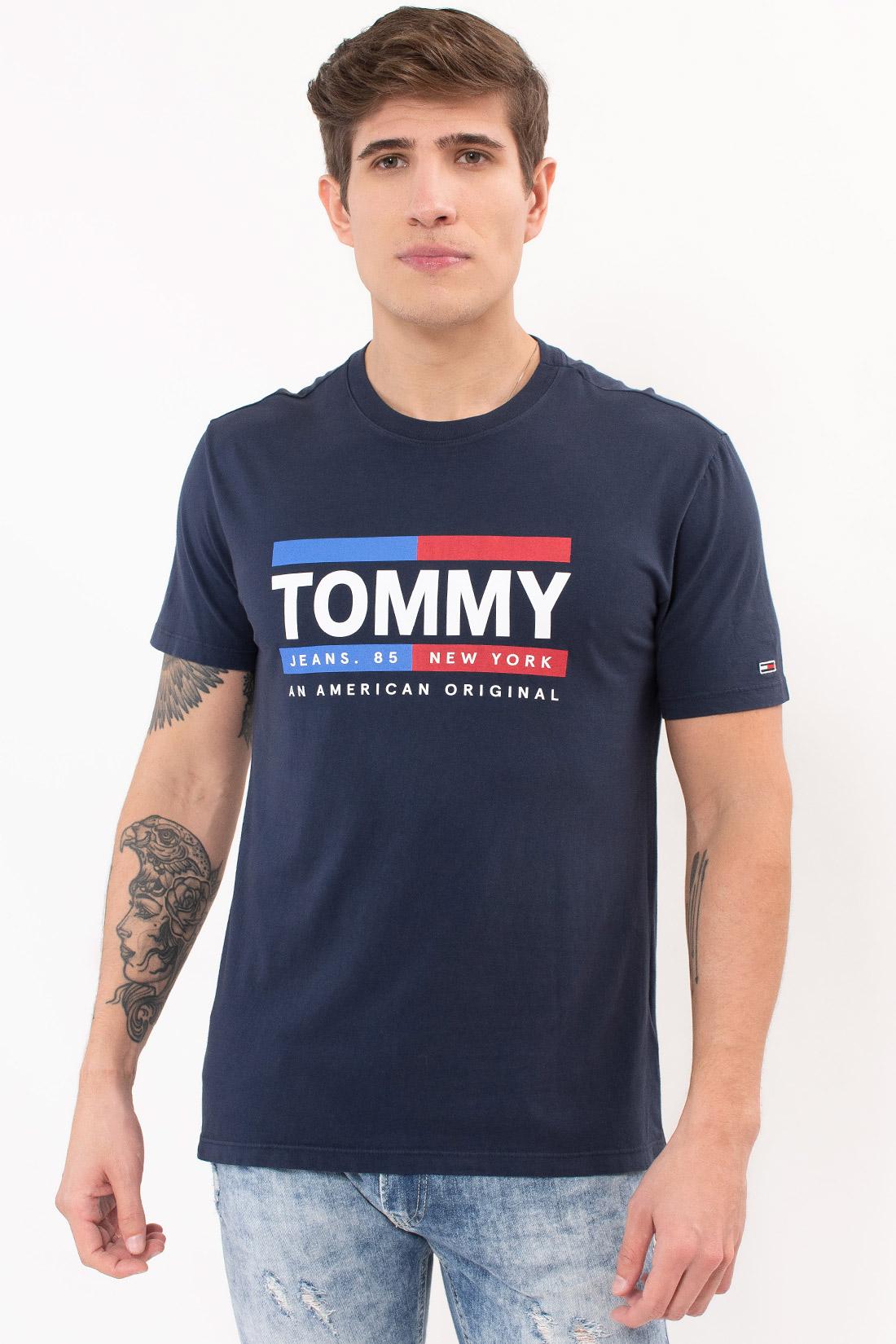 Camiseta Mc Tommy Hilfiger Stright Box