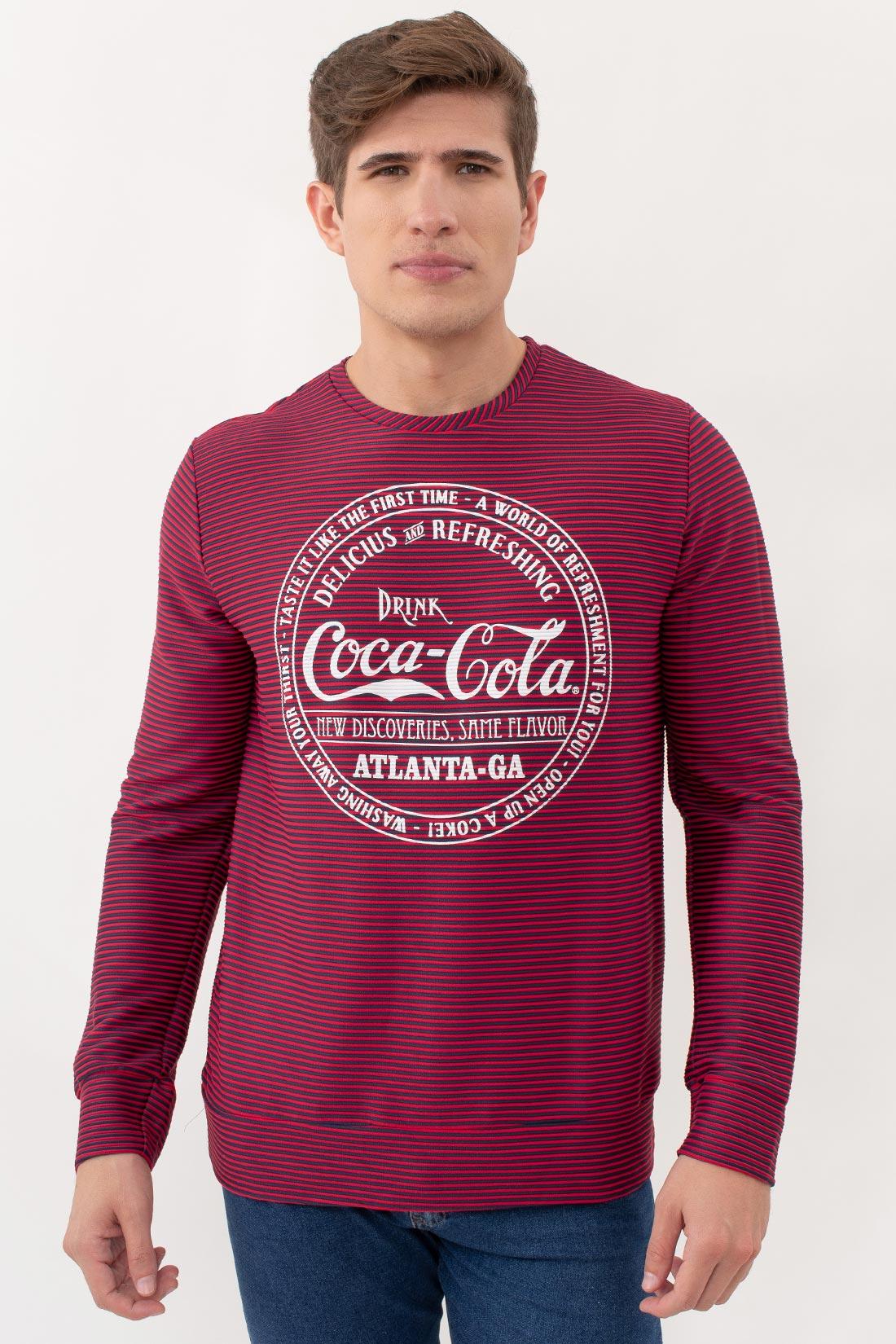 Camiseta Ml Coca Cola Canelada