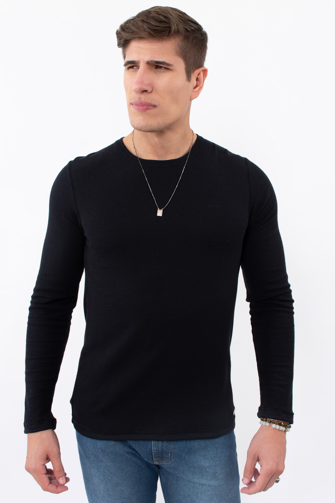 Camiseta Ml Colcci Basica Canelada
