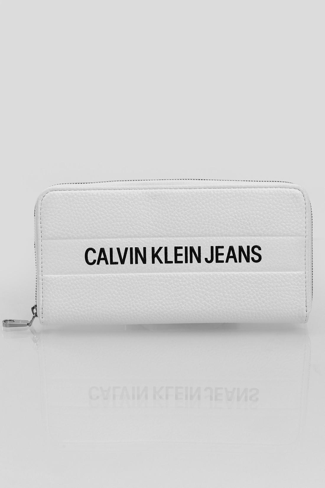 Carteira Fem Calvin Klein Logo