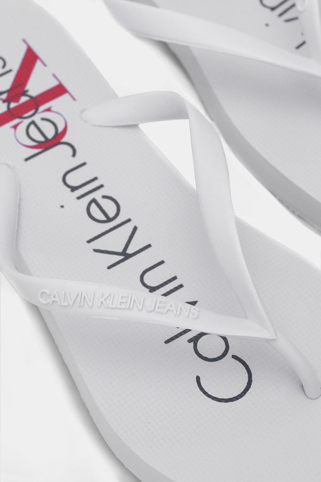 Chinelo Calvin Klein Logo Ck