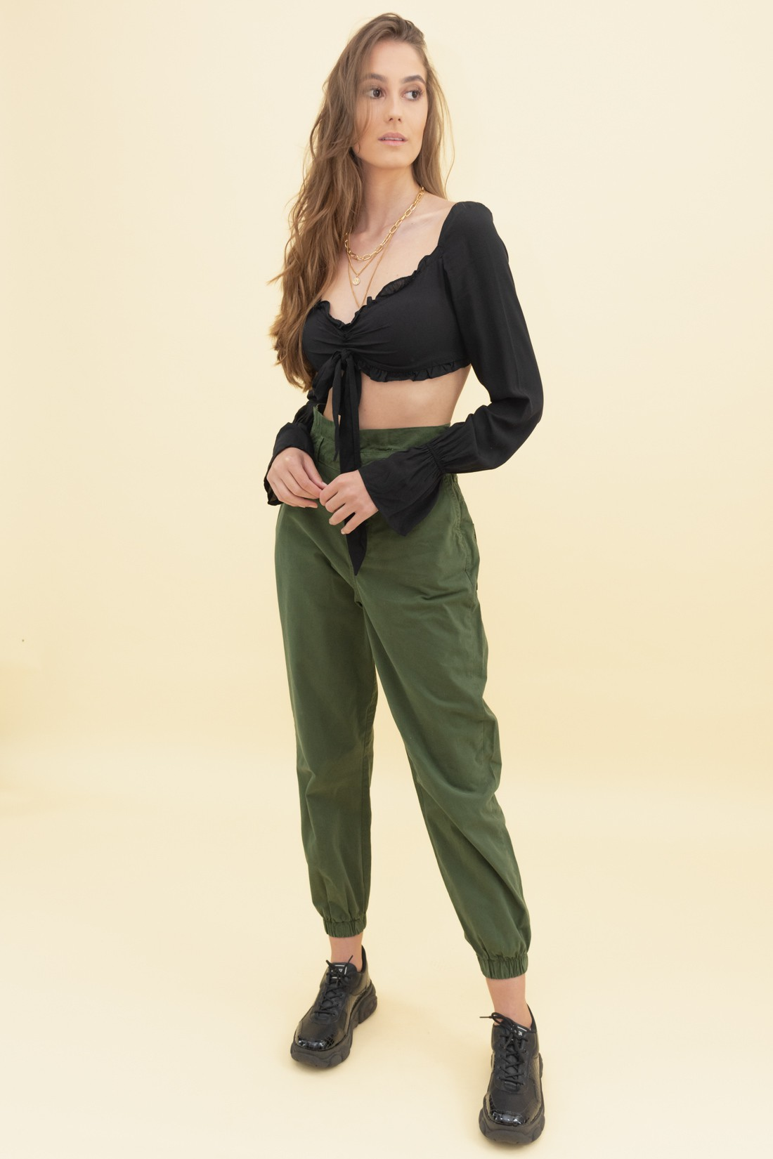 Cropped Ml Amarracao