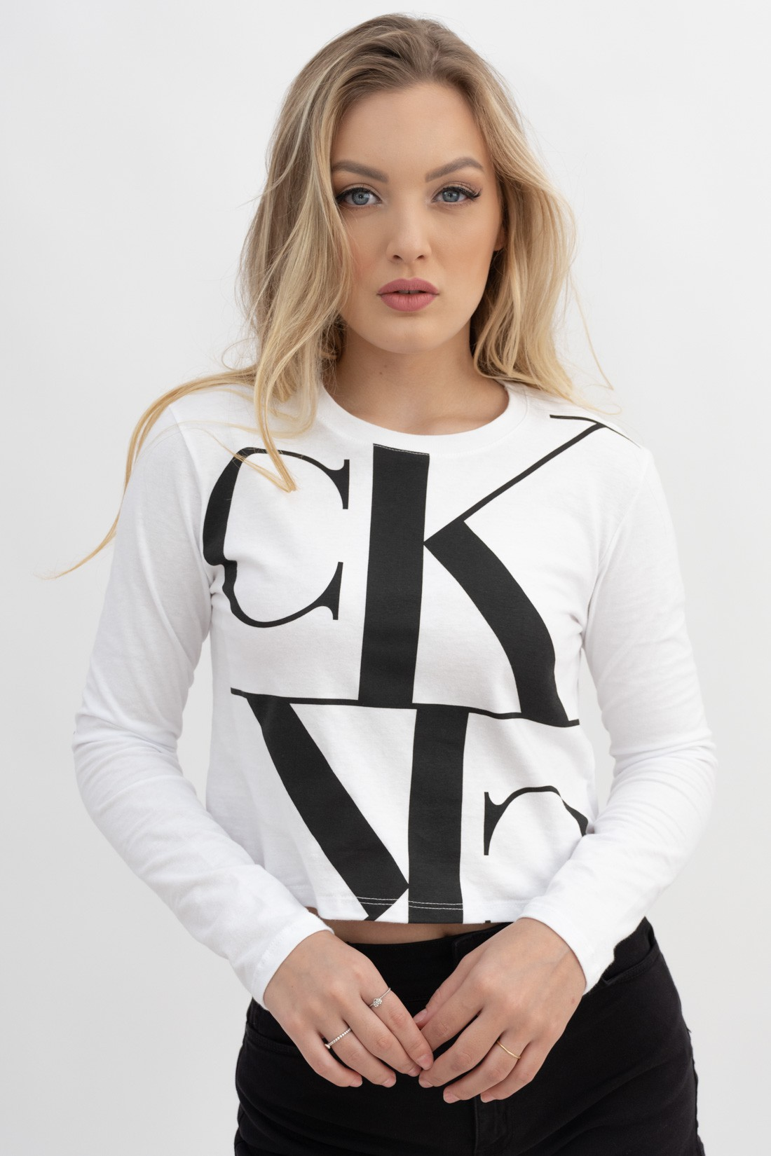 Cropped Ml Calvin Klein Big Ck